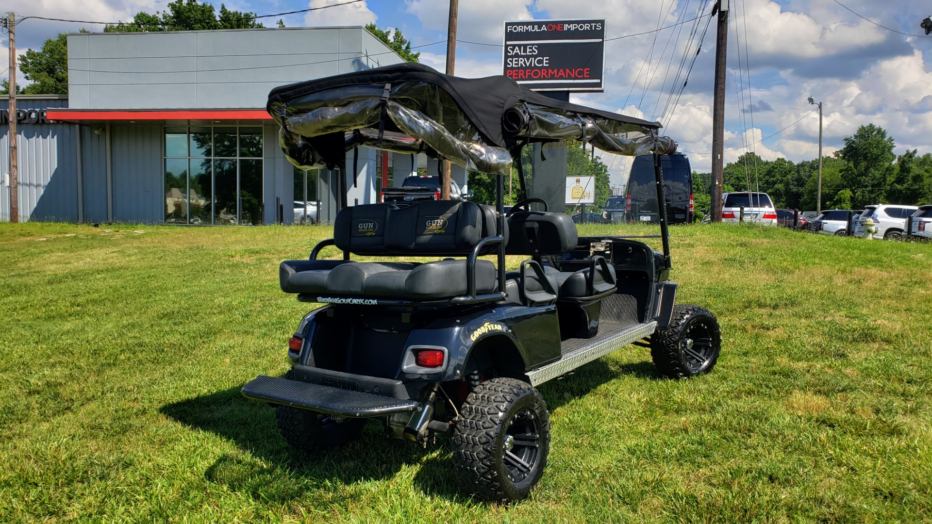 Used 2010 E-Z-GO GOLF CART 24HP / 3-ROW SEATING FOR 6 / SUSPENSION LIFT / SONY STEREO for sale $16,995 at Formula Imports in Charlotte NC 28227 22