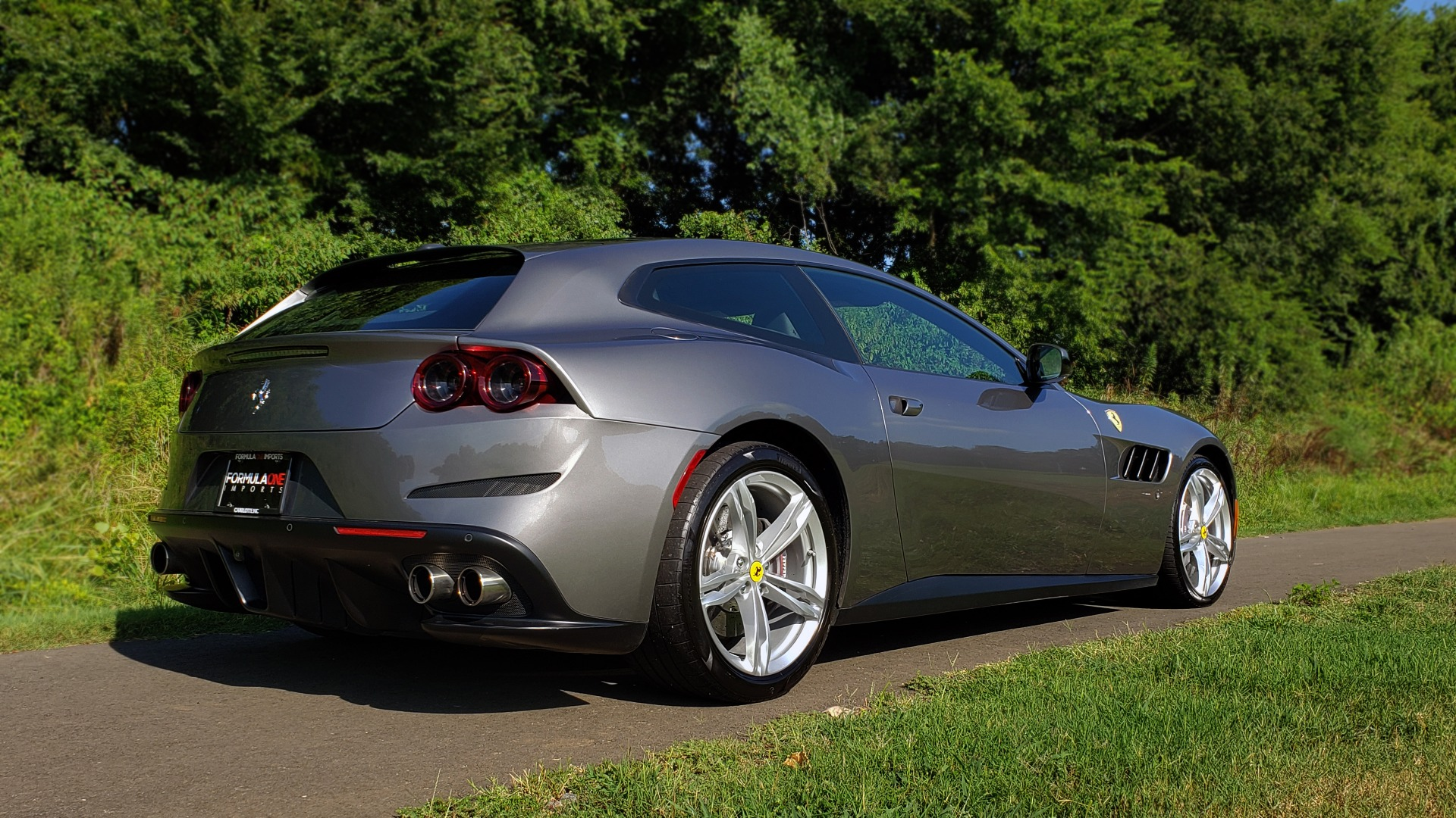 Used 2017 Ferrari GTC4Lusso for sale Sold at Formula Imports in Charlotte NC 28227 8