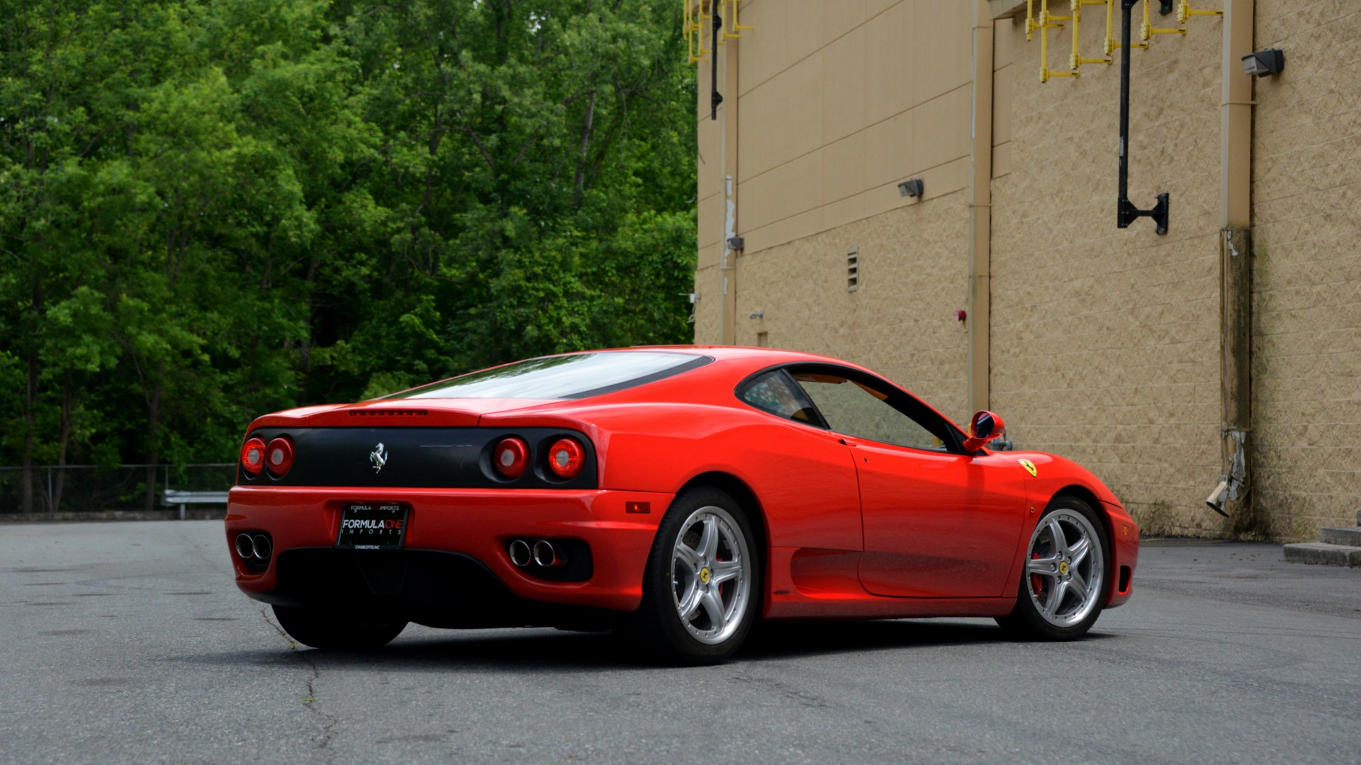 Used 2004 Ferrari 360 MODENA COUPE / GATED 6-SPD MANUAL / SUNROOF / LOW MILES for sale Sold at Formula Imports in Charlotte NC 28227 11