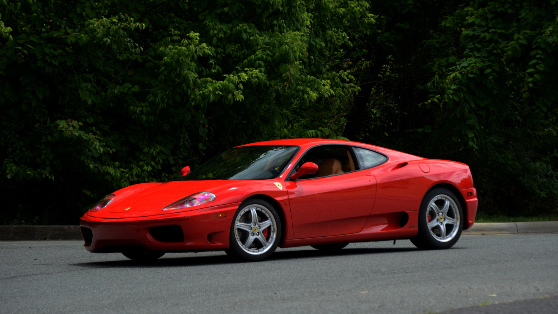 Used 2004 Ferrari 360 MODENA COUPE / GATED 6-SPD MANUAL / SUNROOF / LOW MILES for sale Sold at Formula Imports in Charlotte NC 28227 12