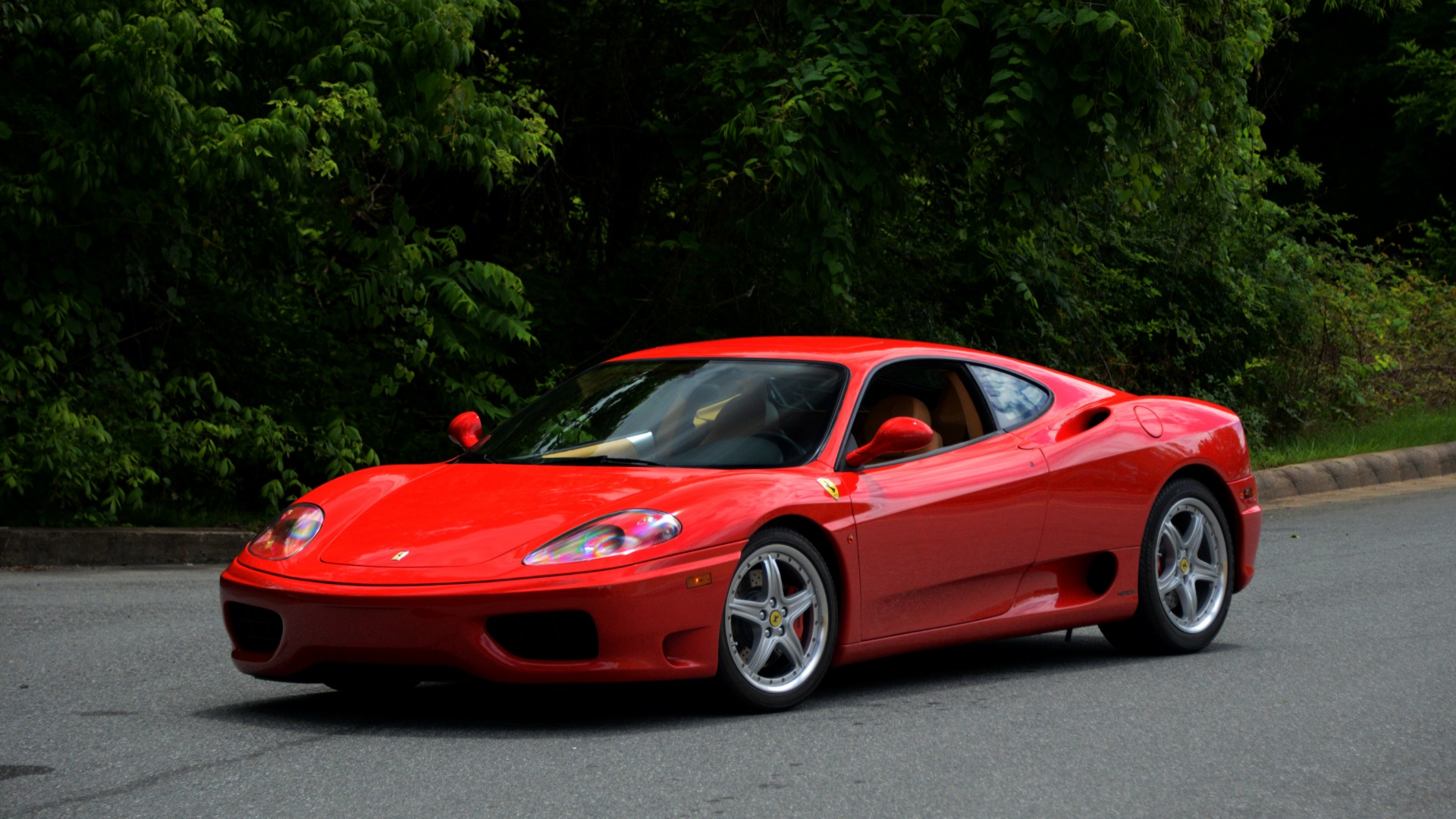 Used 2004 Ferrari 360 MODENA COUPE / GATED 6-SPD MANUAL / SUNROOF / LOW MILES for sale Sold at Formula Imports in Charlotte NC 28227 13