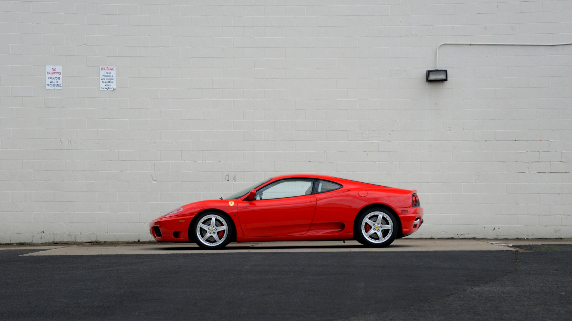 Used 2004 Ferrari 360 MODENA COUPE / GATED 6-SPD MANUAL / SUNROOF / LOW MILES for sale $89,995 at Formula Imports in Charlotte NC 28227 14