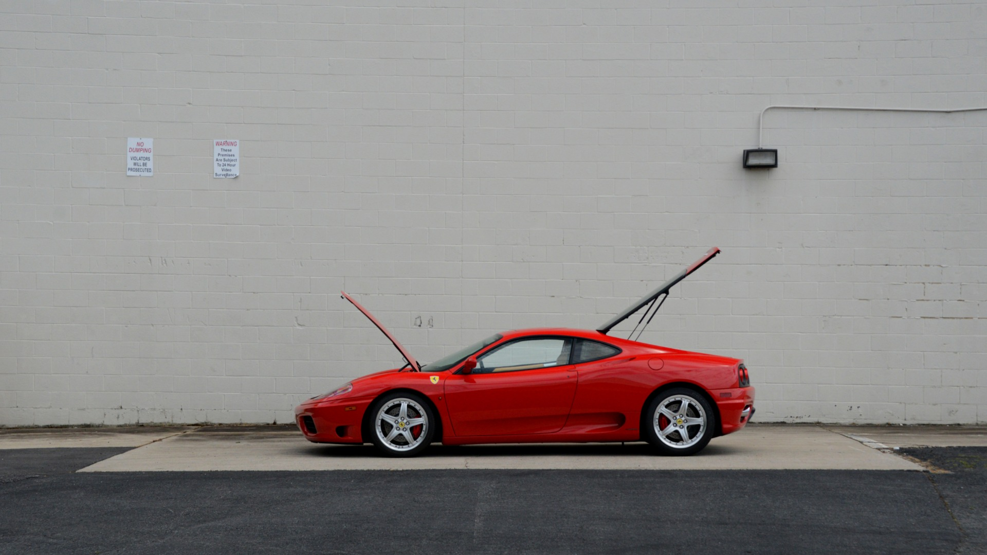 Used 2004 Ferrari 360 MODENA COUPE / GATED 6-SPD MANUAL / SUNROOF / LOW MILES for sale Sold at Formula Imports in Charlotte NC 28227 15