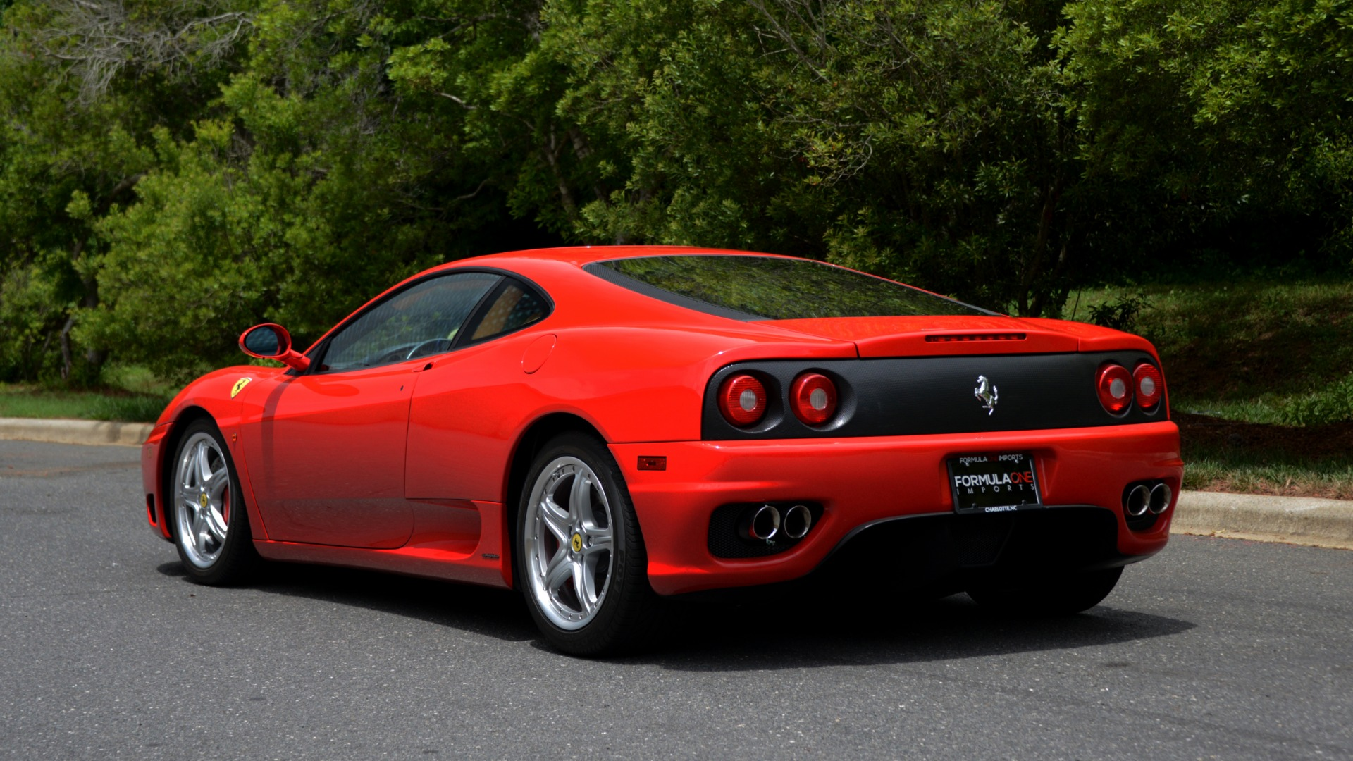 Used 2004 Ferrari 360 MODENA COUPE / GATED 6-SPD MANUAL / SUNROOF / LOW MILES for sale Sold at Formula Imports in Charlotte NC 28227 3