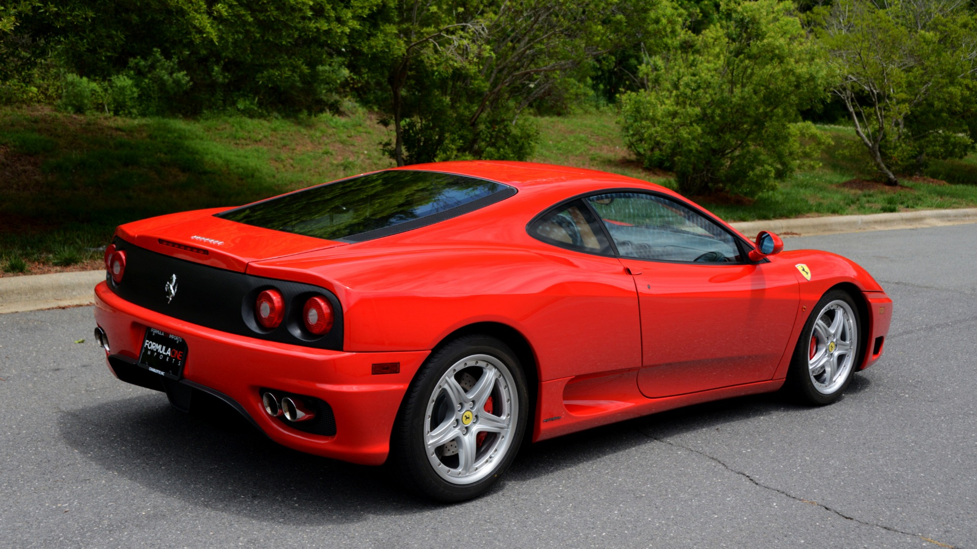 Used 2004 Ferrari 360 MODENA COUPE / GATED 6-SPD MANUAL / SUNROOF / LOW MILES for sale Sold at Formula Imports in Charlotte NC 28227 4