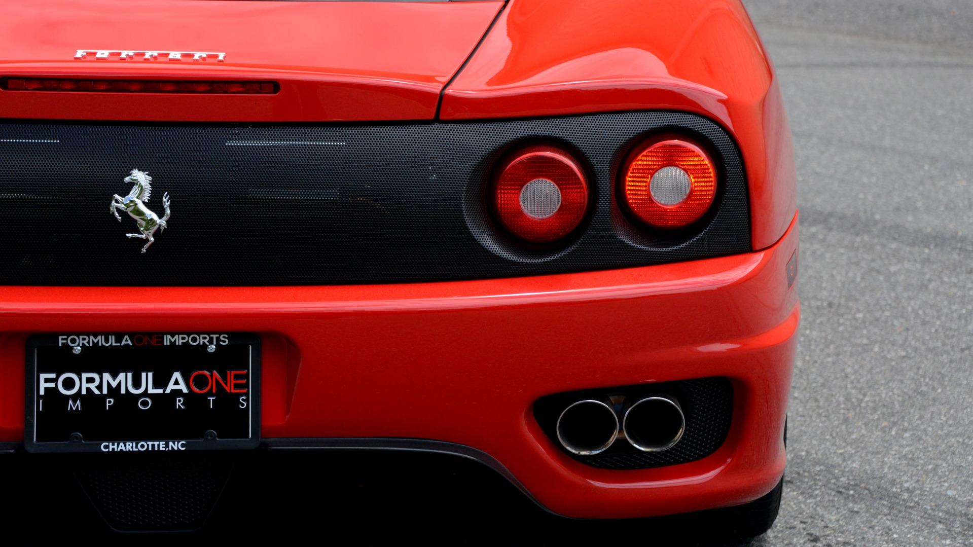 Used 2004 Ferrari 360 MODENA COUPE / GATED 6-SPD MANUAL / SUNROOF / LOW MILES for sale $89,995 at Formula Imports in Charlotte NC 28227 69