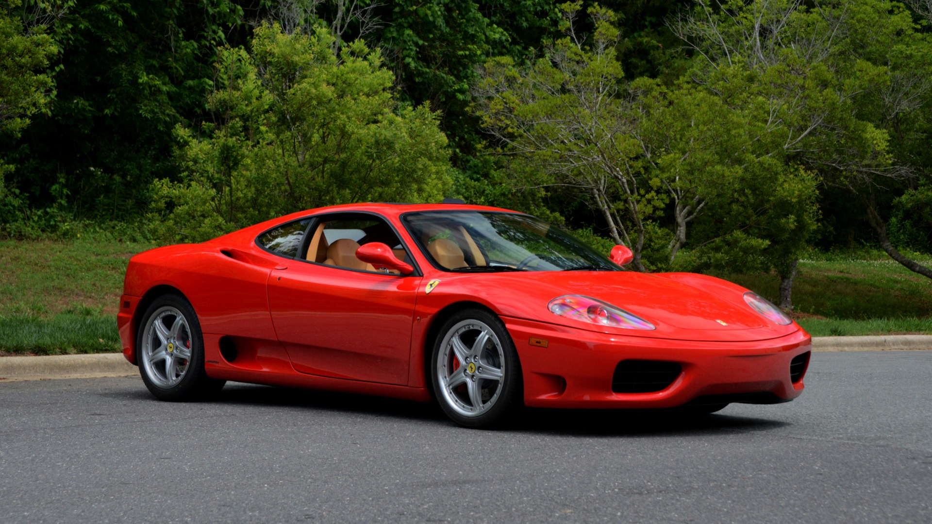 Used 2004 Ferrari 360 MODENA COUPE / GATED 6-SPD MANUAL / SUNROOF / LOW MILES for sale Sold at Formula Imports in Charlotte NC 28227 7