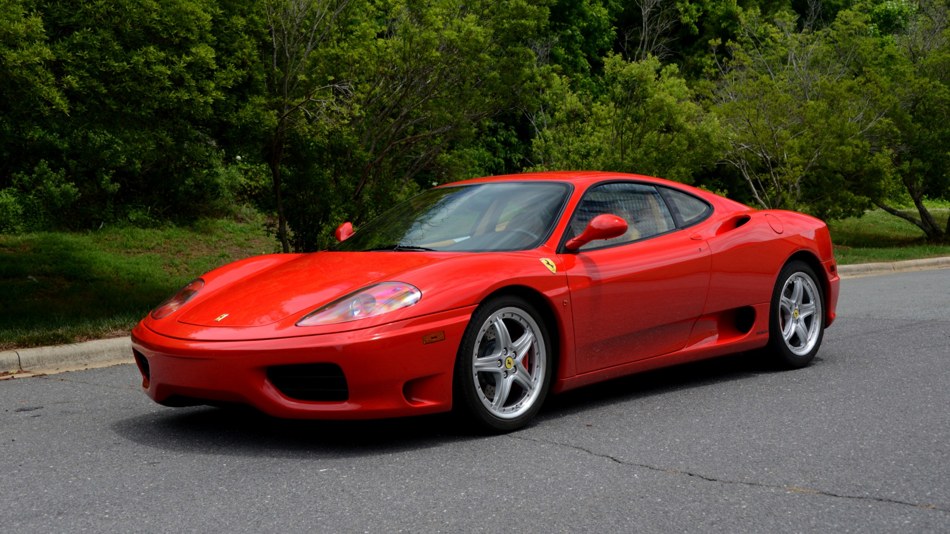 Used 2004 Ferrari 360 MODENA COUPE / GATED 6-SPD MANUAL / SUNROOF / LOW MILES for sale Sold at Formula Imports in Charlotte NC 28227 1