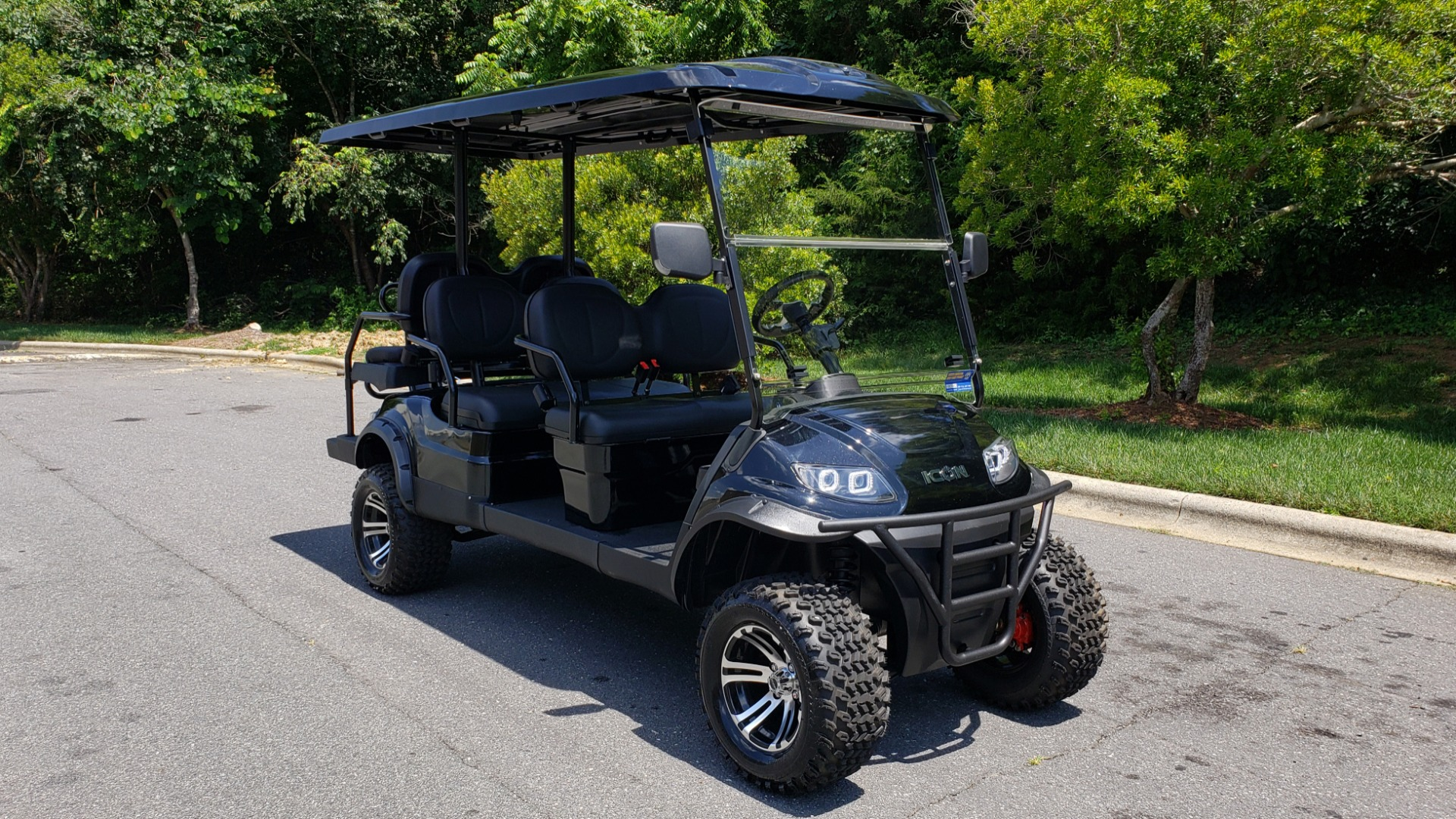 Used 2019 ICON ELECTRIC CAR 3-ROW / 6-PASSENGER / LIFTED for sale $10,900 at Formula Imports in Charlotte NC 28227 12