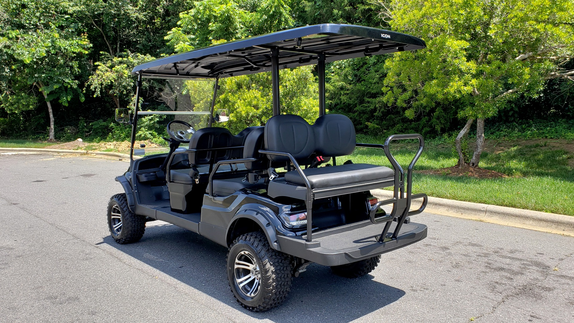 Used 2019 ICON ELECTRIC CAR 3-ROW / 6-PASSENGER / LIFTED for sale $10,900 at Formula Imports in Charlotte NC 28227 3