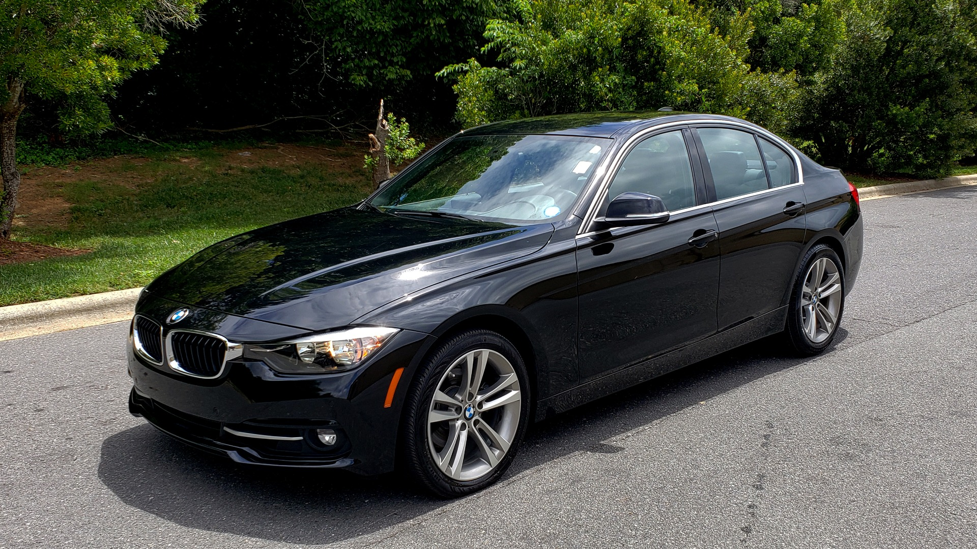 Used 2017 BMW 3 SERIES 330I SPORT / NAV / LEATHER / REARVIEW / PARK DIST CNTRL for sale Sold at Formula Imports in Charlotte NC 28227 1