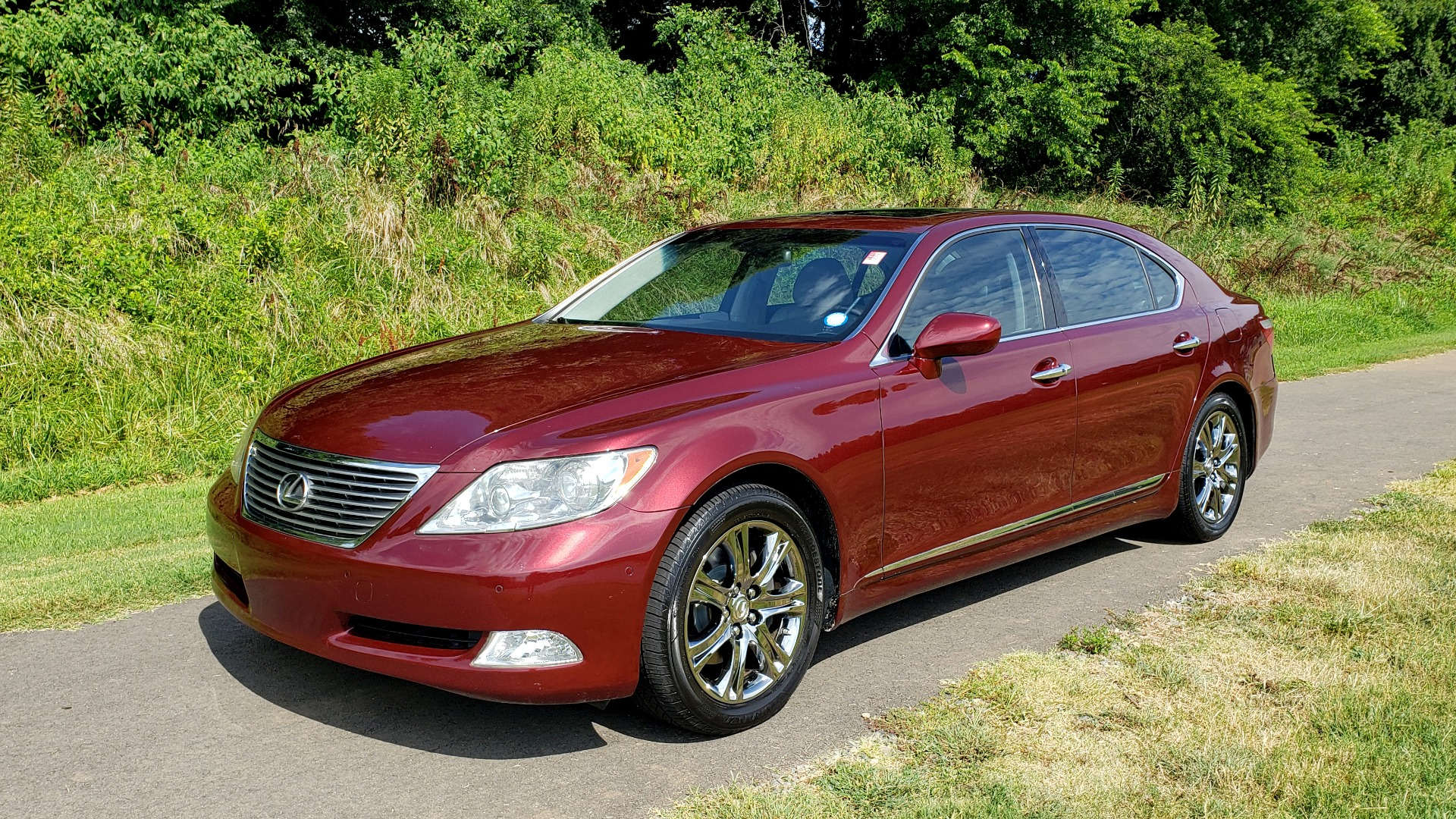 Used 2007 Lexus LS 460 LWB / LUX / NAV / SUNROOF / MARK LEVINSON SND / AIR SUSP for sale Sold at Formula Imports in Charlotte NC 28227 1