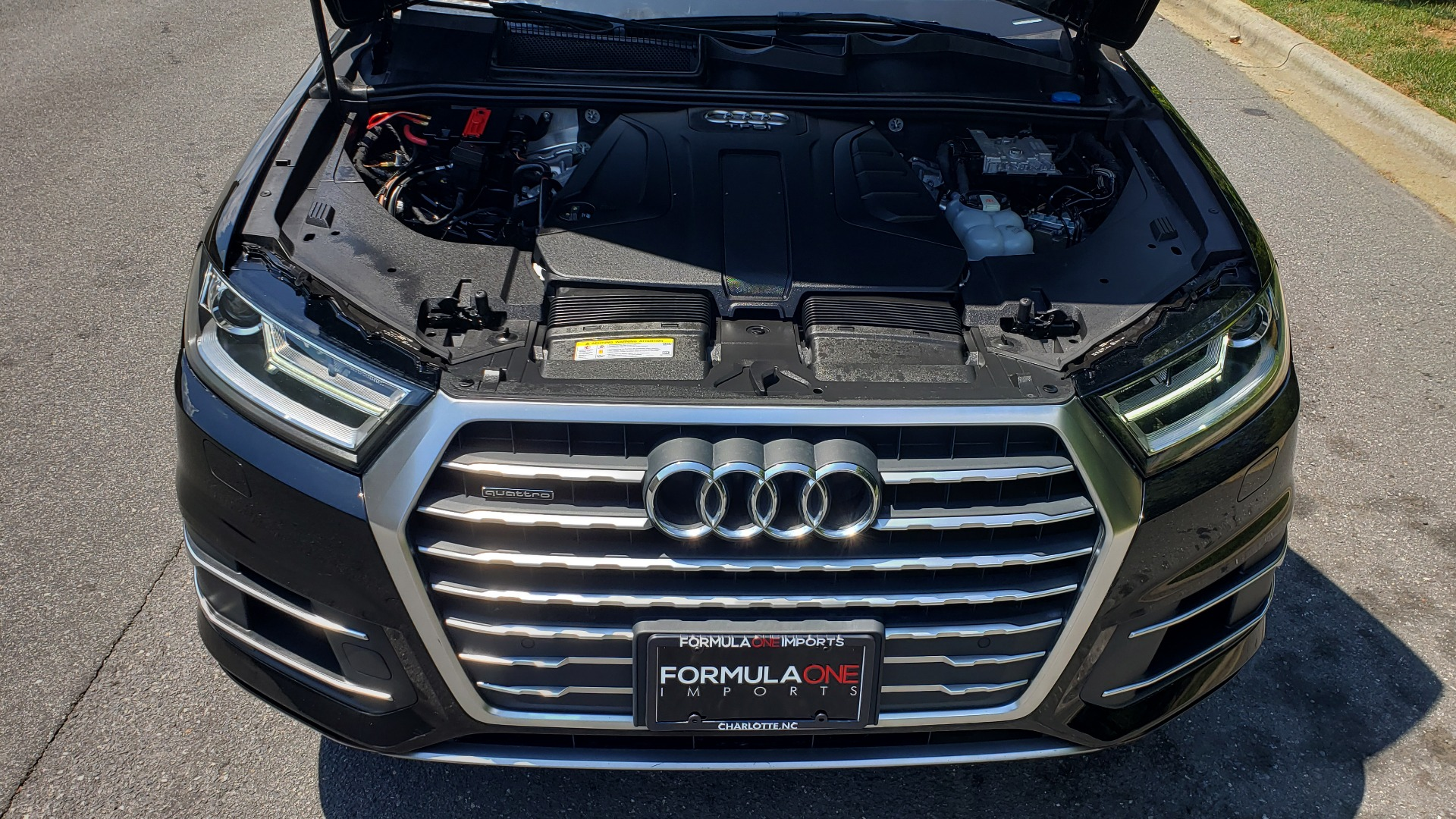 Used 2017 Audi Q7 PREMIUM PLUS / NAV / CLD WTHR / 3-ROW / REARVIEW for sale $35,399 at Formula Imports in Charlotte NC 28227 10