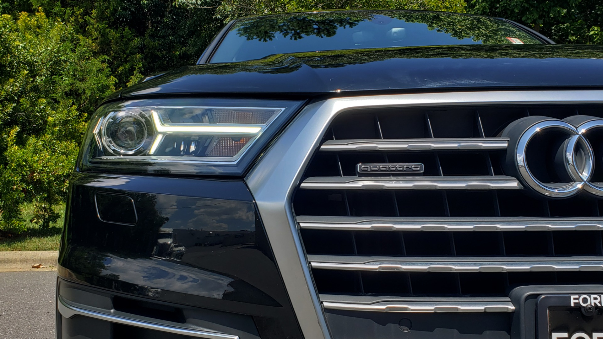 Used 2017 Audi Q7 PREMIUM PLUS / NAV / CLD WTHR / 3-ROW / REARVIEW for sale $35,399 at Formula Imports in Charlotte NC 28227 25