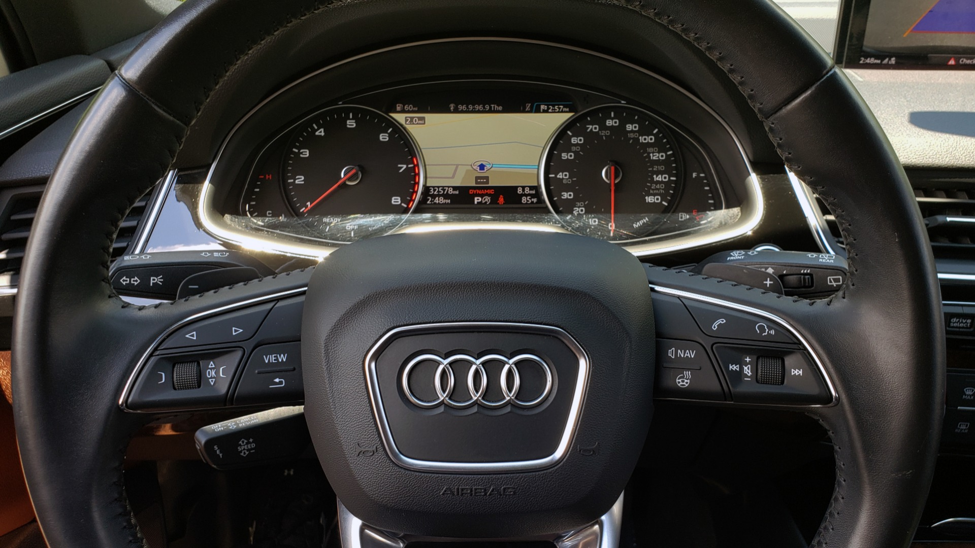 Used 2017 Audi Q7 PREMIUM PLUS / NAV / CLD WTHR / 3-ROW / REARVIEW for sale $35,399 at Formula Imports in Charlotte NC 28227 41