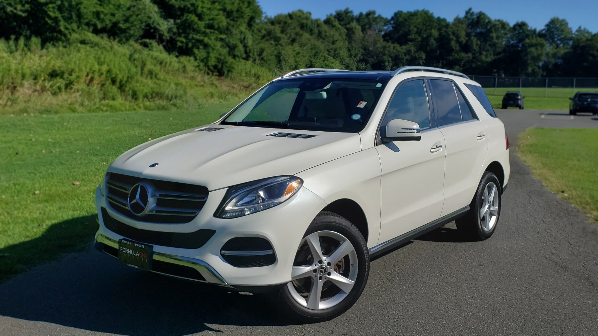 Used 2017 Mercedes-Benz GLE GLE 350 for sale $32,595 at Formula Imports in Charlotte NC 28227 1