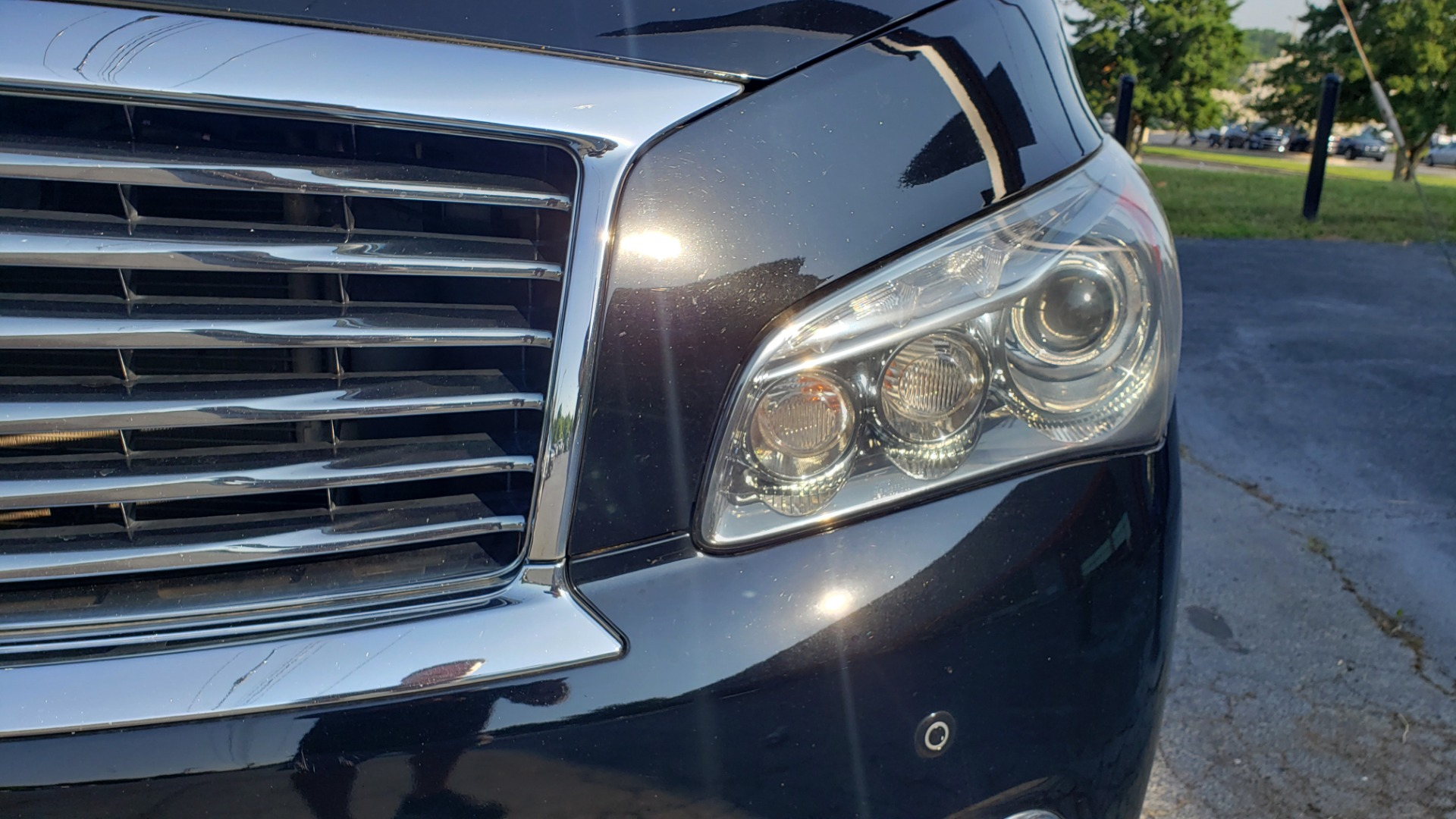 Used 2013 INFINITI QX56 NAV / SUNROOF / BOSE / THEATER / 3-ROW / REARVIEW for sale $21,495 at Formula Imports in Charlotte NC 28227 11