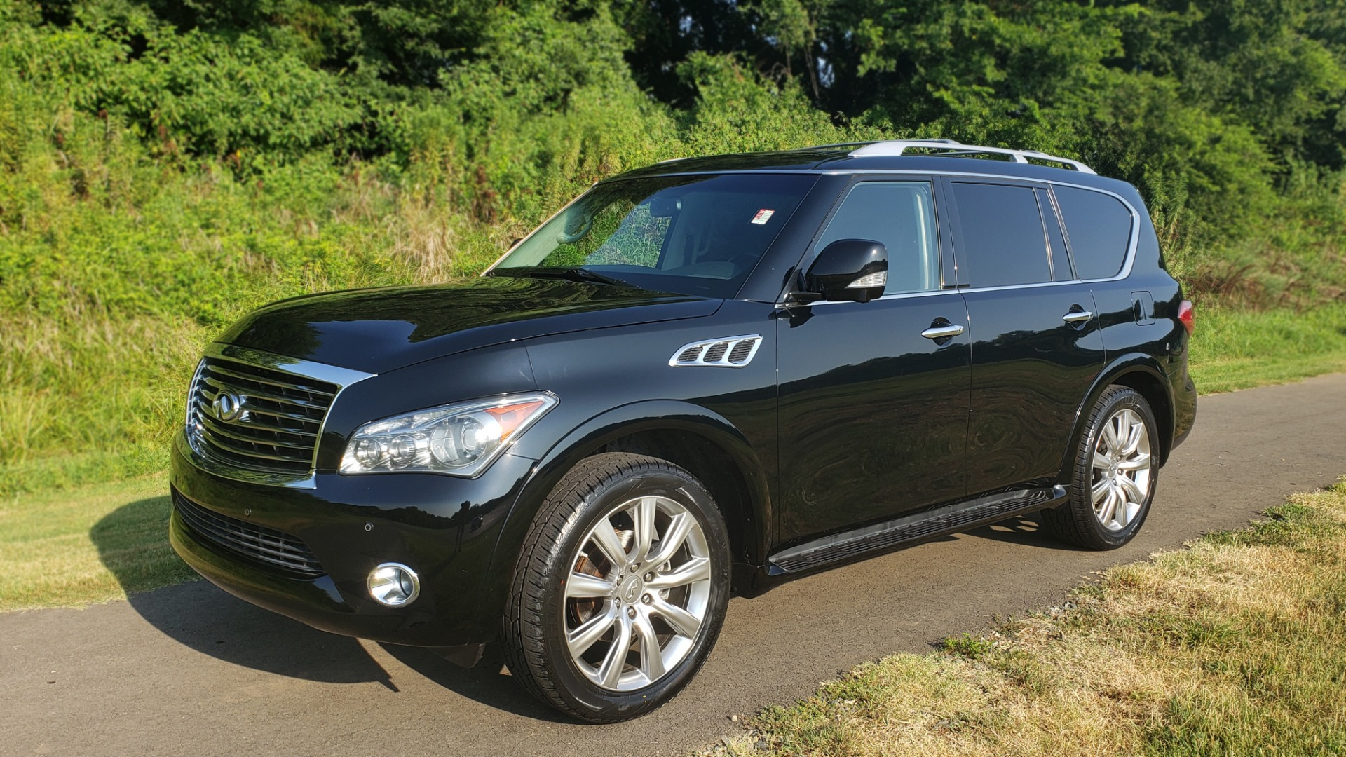 Used 2013 INFINITI QX56 NAV / SUNROOF / BOSE / THEATER / 3-ROW / REARVIEW for sale $21,495 at Formula Imports in Charlotte NC 28227 4