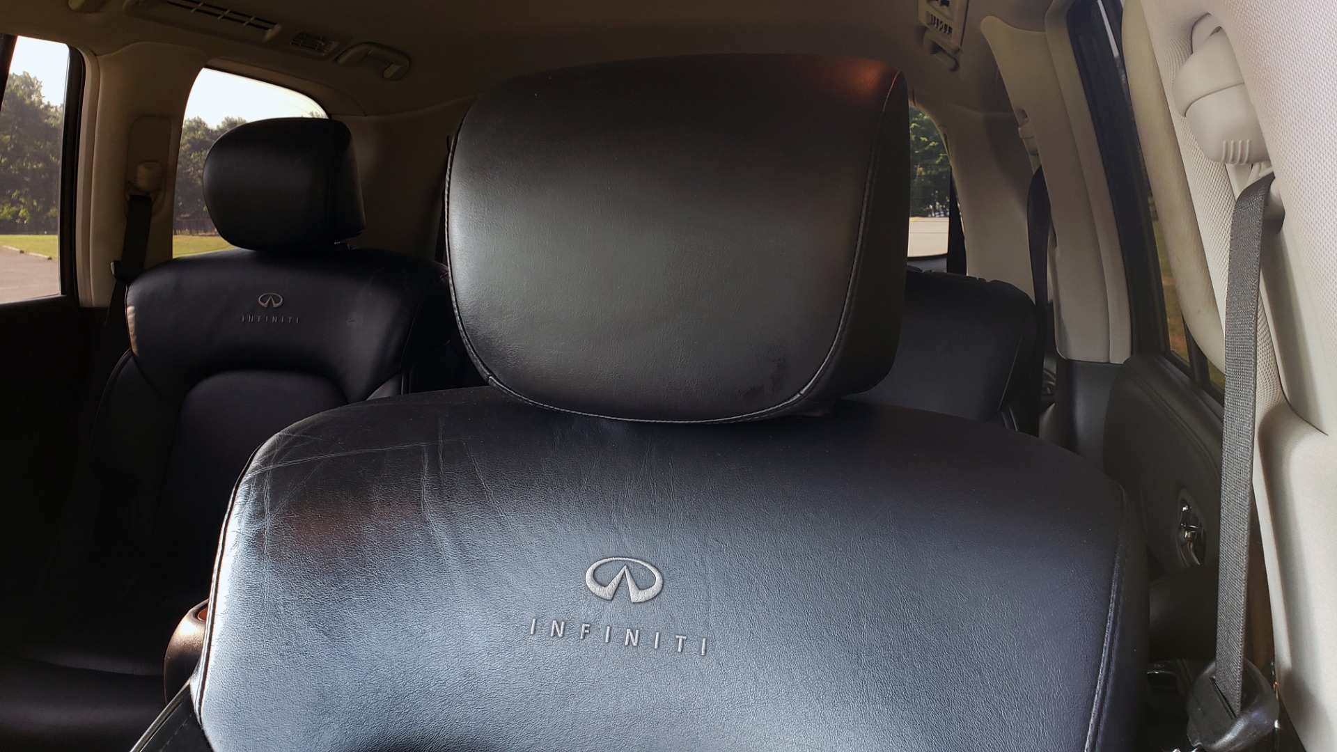 Used 2013 INFINITI QX56 THEATER PKG / NAV / SUNROOF / HEATED SEATS / REARVIEW for sale Sold at Formula Imports in Charlotte NC 28227 48