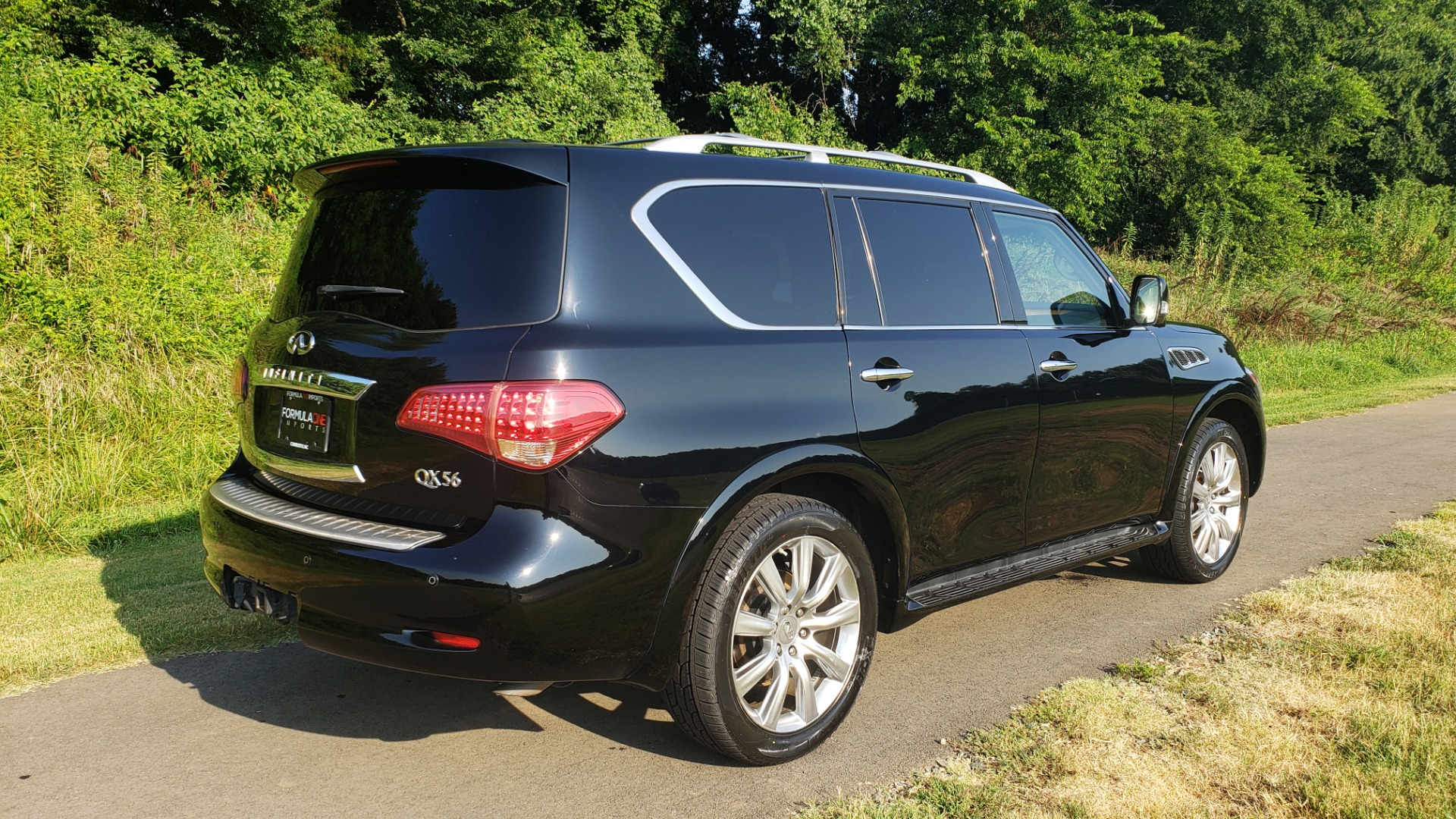 Used 2013 INFINITI QX56 NAV / SUNROOF / BOSE / THEATER / 3-ROW / REARVIEW for sale $21,495 at Formula Imports in Charlotte NC 28227 7