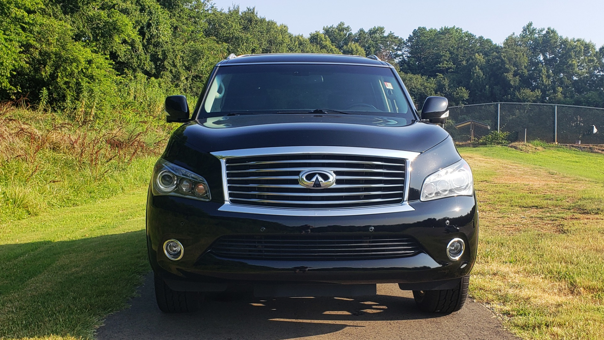 Used 2013 INFINITI QX56 THEATER PKG / NAV / SUNROOF / HEATED SEATS / REARVIEW for sale Sold at Formula Imports in Charlotte NC 28227 9