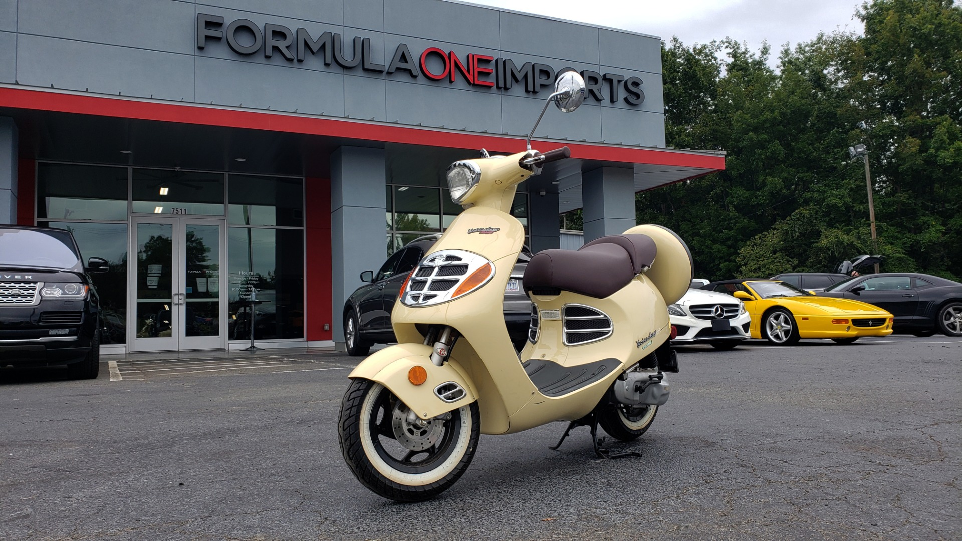 Used 2002 MALAGUTI YESTERDAY 50CC SCOOTER - INCLUDES HELMET for sale $1,799 at Formula Imports in Charlotte NC 28227 1