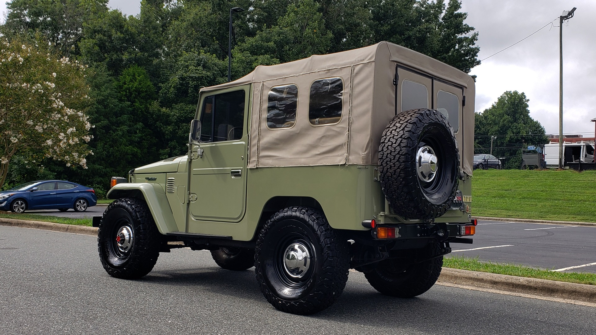 Used 1981 Toyota FJ40 LAND CRUISER FULL RESTORATION - 6500KM SINCE COMPLETE for sale $43,995 at Formula Imports in Charlotte NC 28227 4
