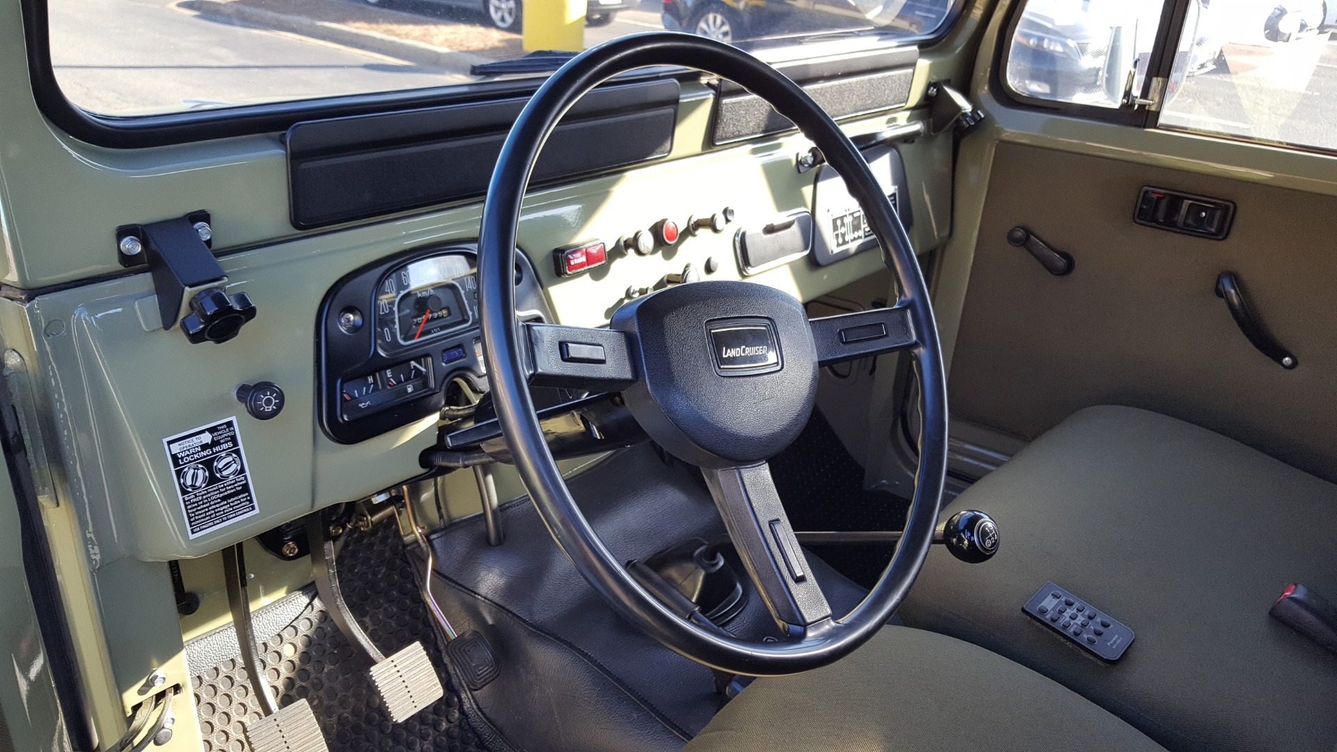 Used 1981 Toyota FJ40 LAND CRUISER 4X4 / FULL RESTORATION / 6500KM SINCE COMPLETE for sale Sold at Formula Imports in Charlotte NC 28227 48