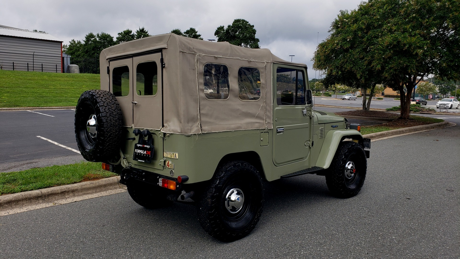 Used 1981 Toyota FJ40 LAND CRUISER 4X4 / FULL RESTORATION / 6500KM SINCE COMPLETE for sale Sold at Formula Imports in Charlotte NC 28227 8