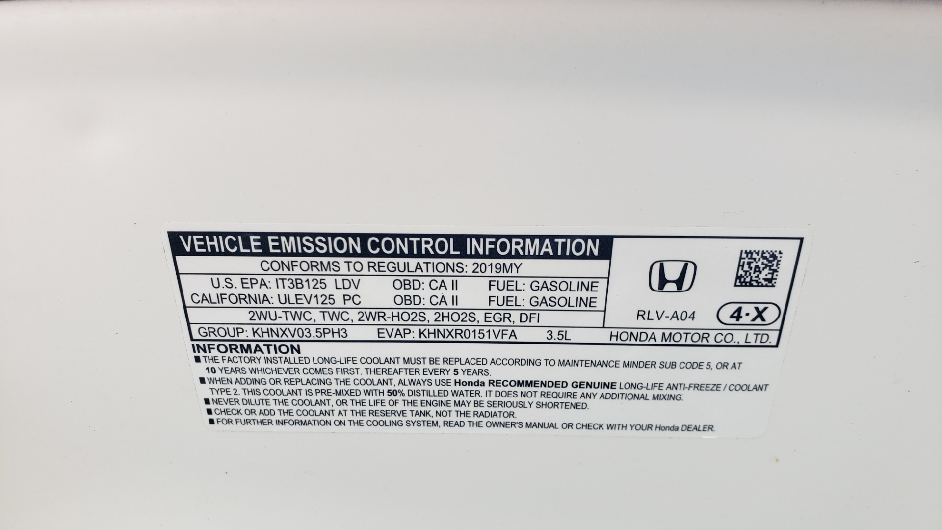 Used 2019 Honda PILOT EX-L / V6 / NAV / SUNROOF / DVD / 3-ROW / REARVIEW for sale Sold at Formula Imports in Charlotte NC 28227 12