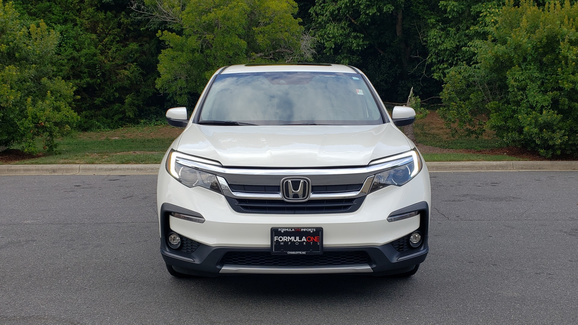 Used 2019 Honda PILOT EX-L / V6 / NAV / SUNROOF / DVD / 3-ROW / REARVIEW for sale Sold at Formula Imports in Charlotte NC 28227 23