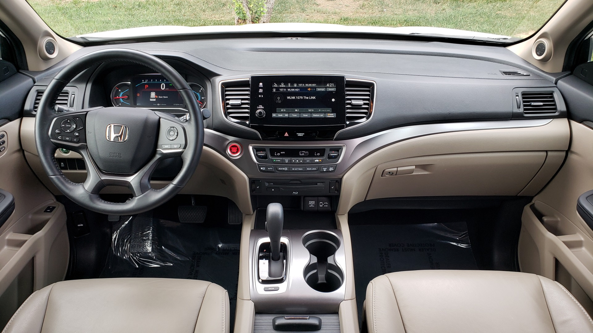 Used 2019 Honda PILOT EX-L / V6 / NAV / SUNROOF / DVD / 3-ROW / REARVIEW for sale Sold at Formula Imports in Charlotte NC 28227 85