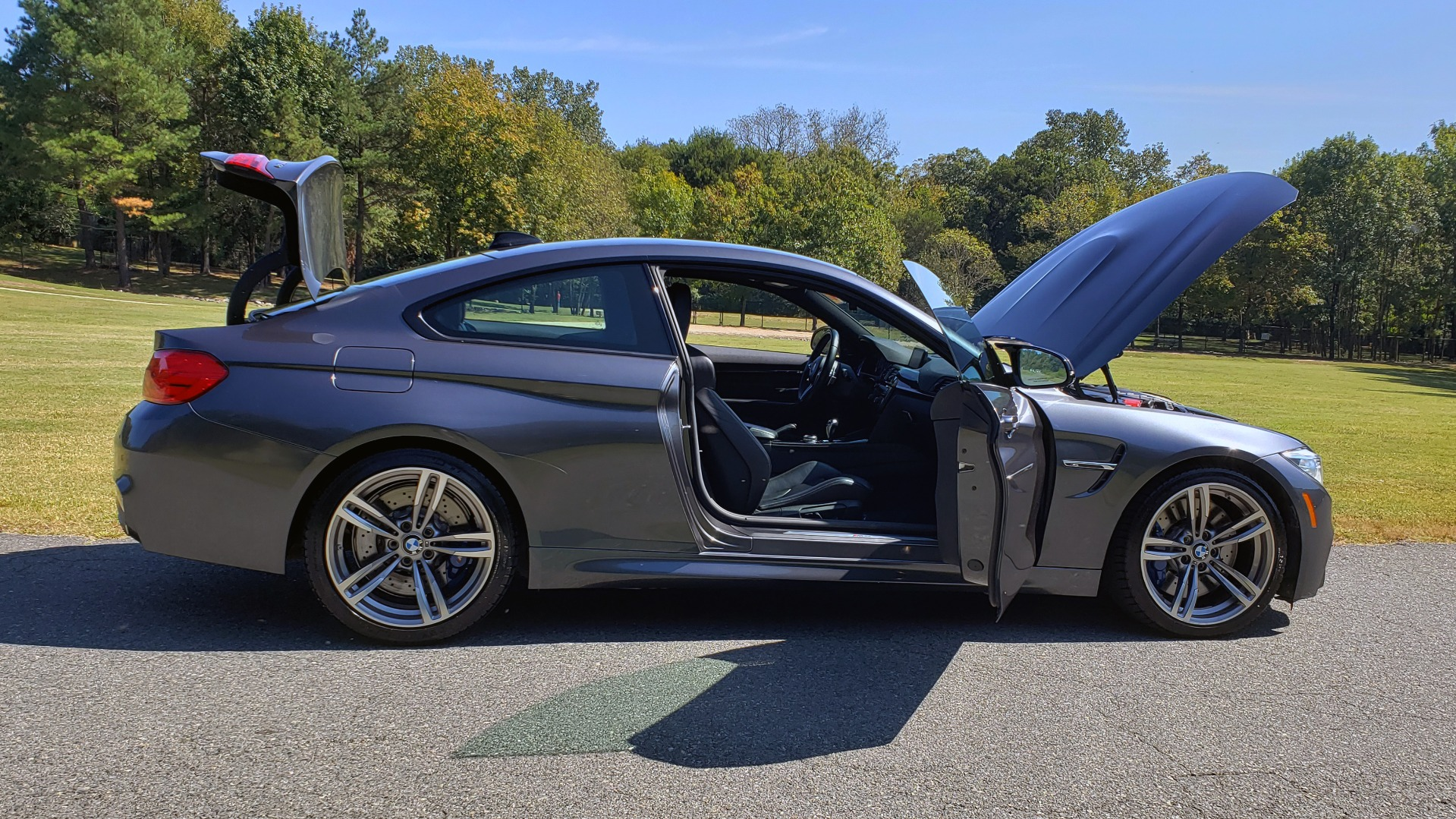 Used 2015 BMW M4 COUPE / EXEC PKG / ADAPT M SUSP / CF ROOF / NAV / REARVIEW for sale Sold at Formula Imports in Charlotte NC 28227 16