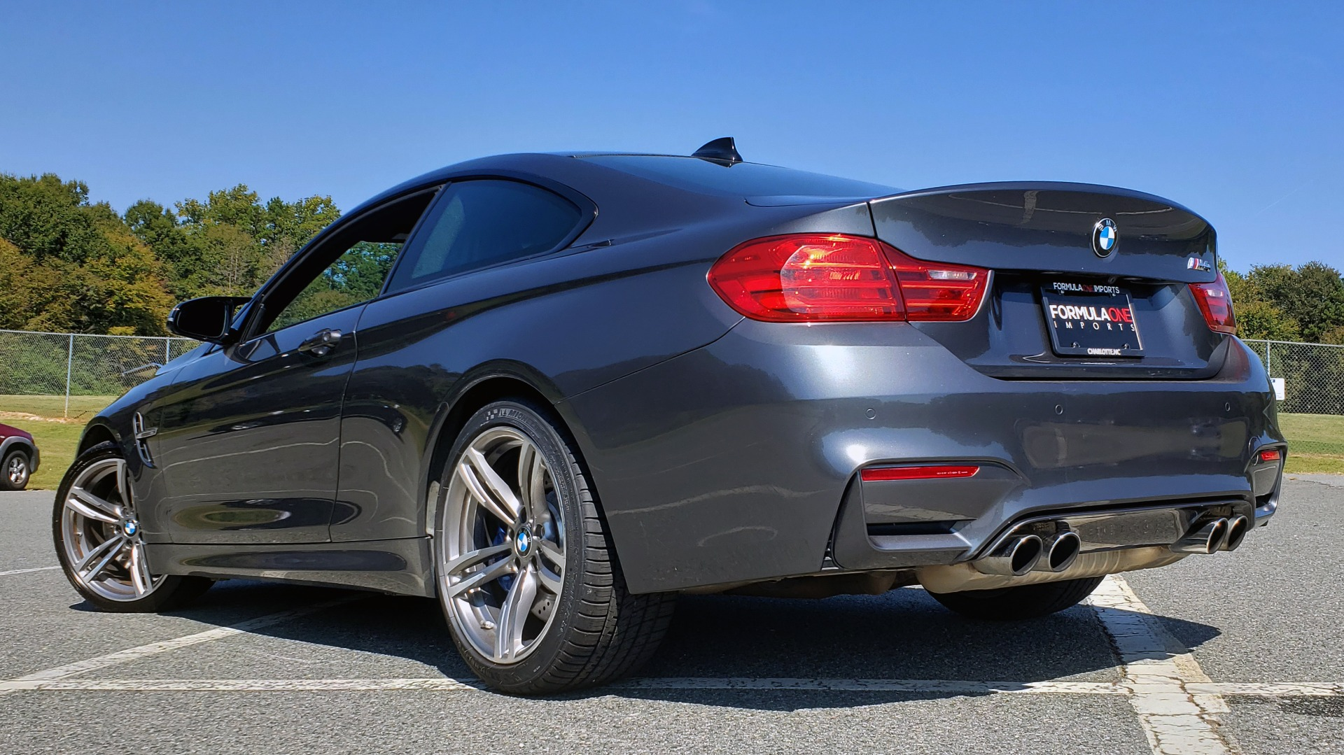 Used 2015 BMW M4 COUPE / EXEC PKG / ADAPT M SUSP / CF ROOF / NAV / REARVIEW for sale Sold at Formula Imports in Charlotte NC 28227 2