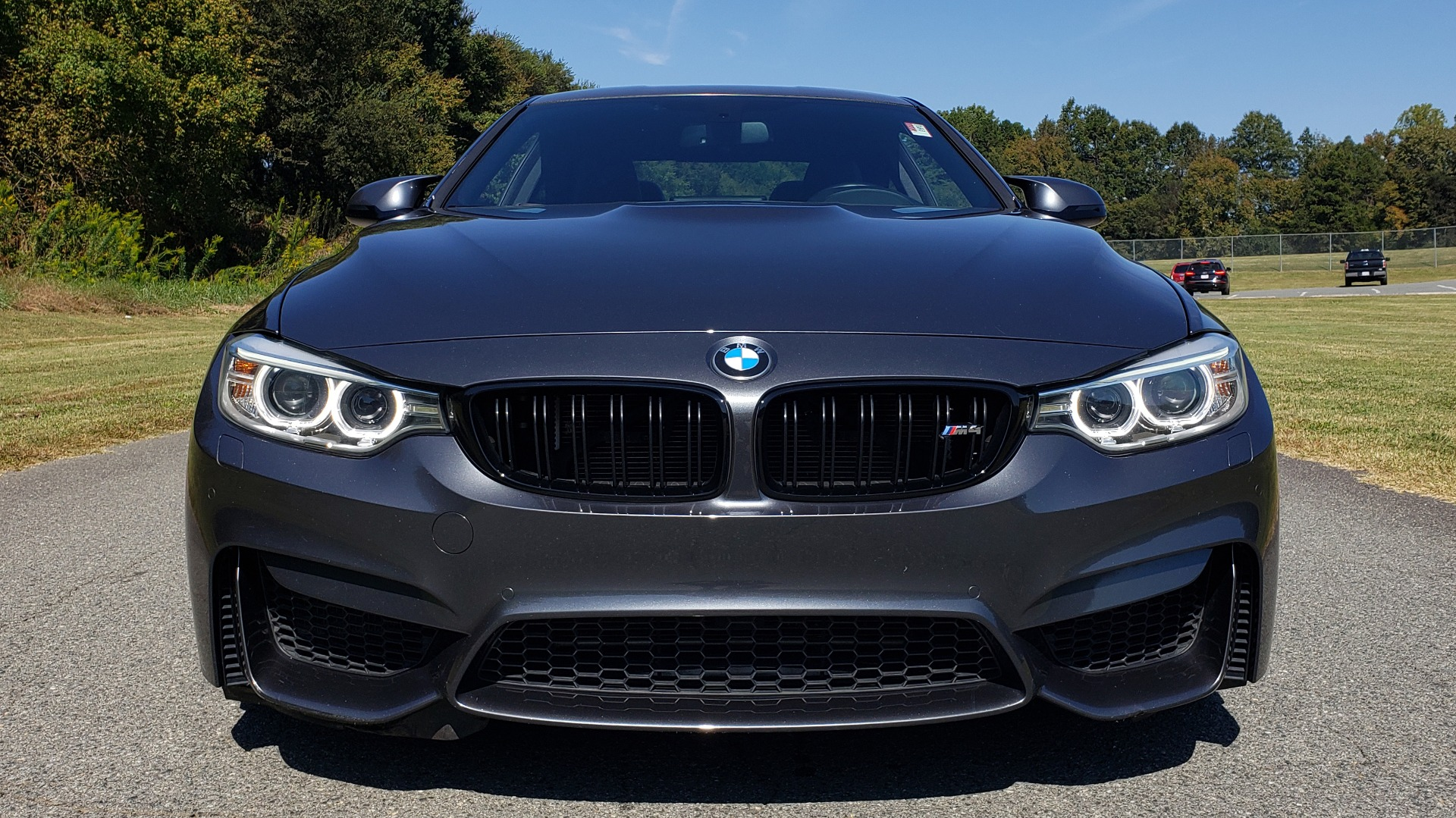 Used 2015 BMW M4 COUPE / EXEC PKG / ADAPT M SUSP / CF ROOF / NAV / REARVIEW for sale Sold at Formula Imports in Charlotte NC 28227 28
