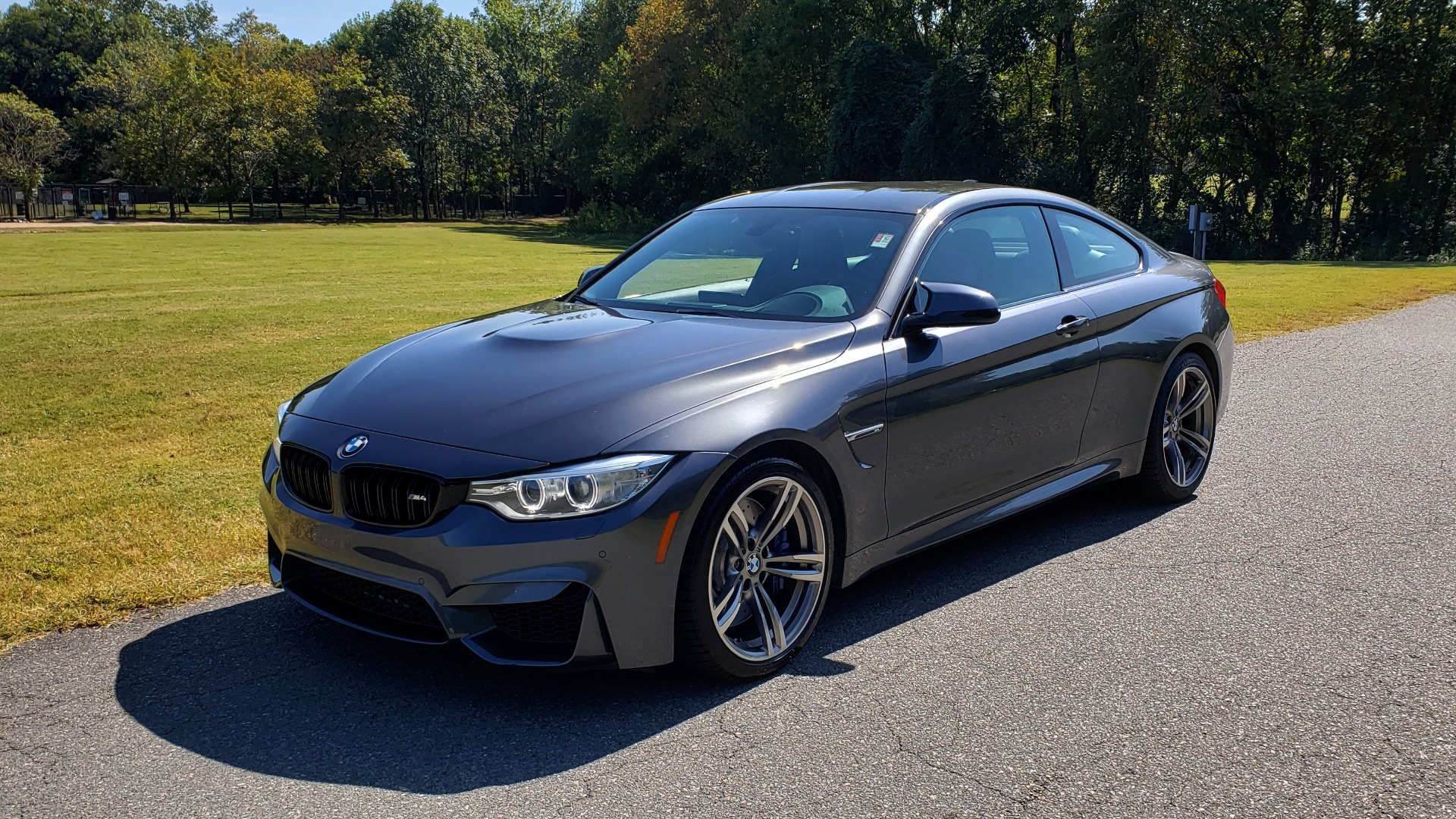 Used 2015 BMW M4 COUPE / EXEC PKG / ADAPT M SUSP / CF ROOF / NAV / REARVIEW for sale Sold at Formula Imports in Charlotte NC 28227 3