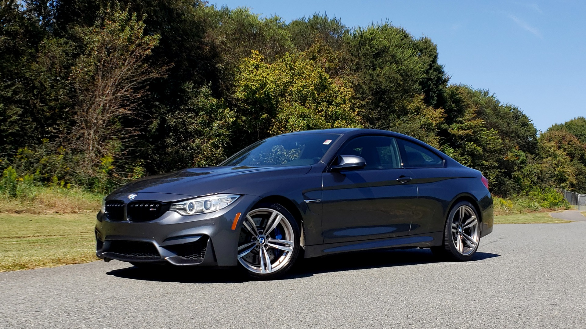 Used 2015 BMW M4 COUPE / EXEC PKG / ADAPT M SUSP / CF ROOF / NAV / REARVIEW for sale Sold at Formula Imports in Charlotte NC 28227 4