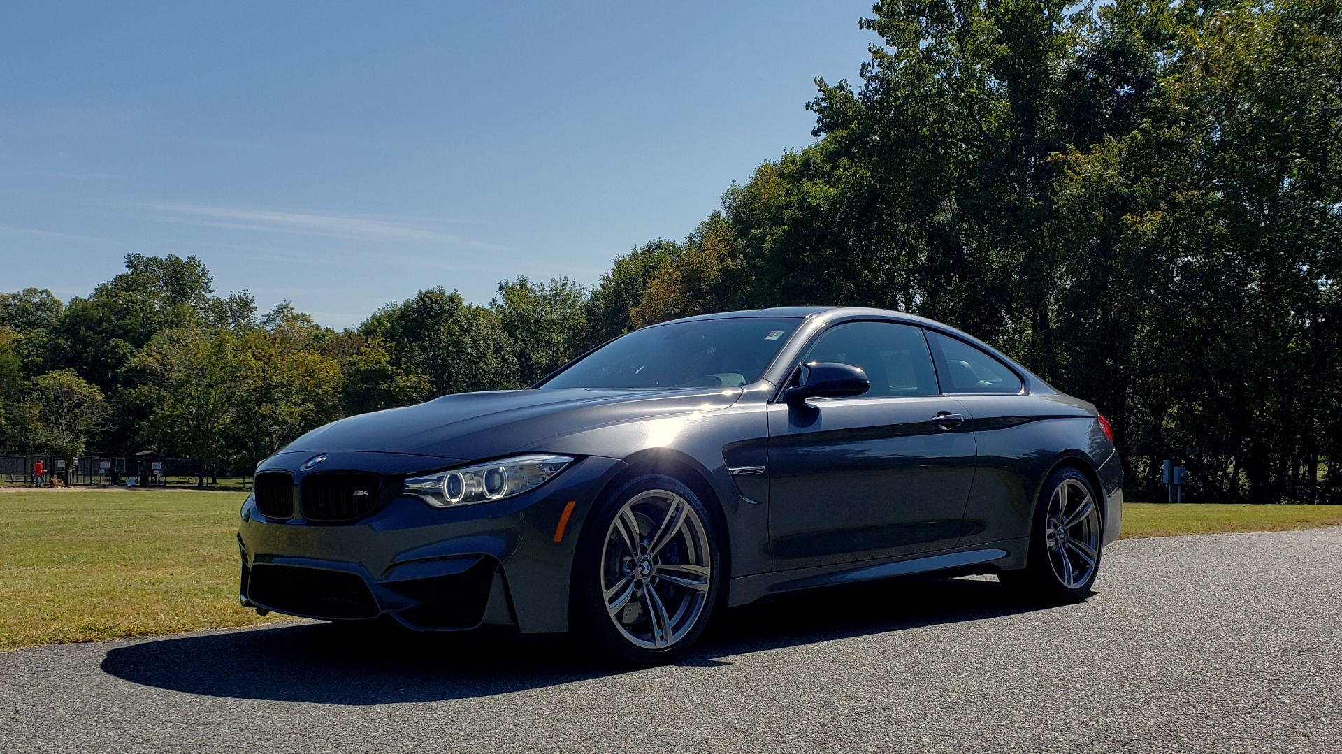 Used 2015 BMW M4 COUPE / EXEC PKG / ADAPT M SUSP / CF ROOF / NAV / REARVIEW for sale Sold at Formula Imports in Charlotte NC 28227 5