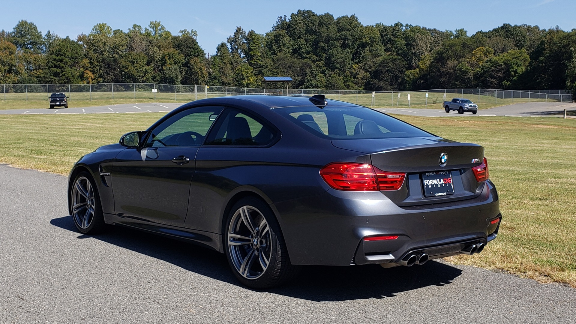 Used 2015 BMW M4 COUPE / EXEC PKG / ADAPT M SUSP / CF ROOF / NAV / REARVIEW for sale Sold at Formula Imports in Charlotte NC 28227 8