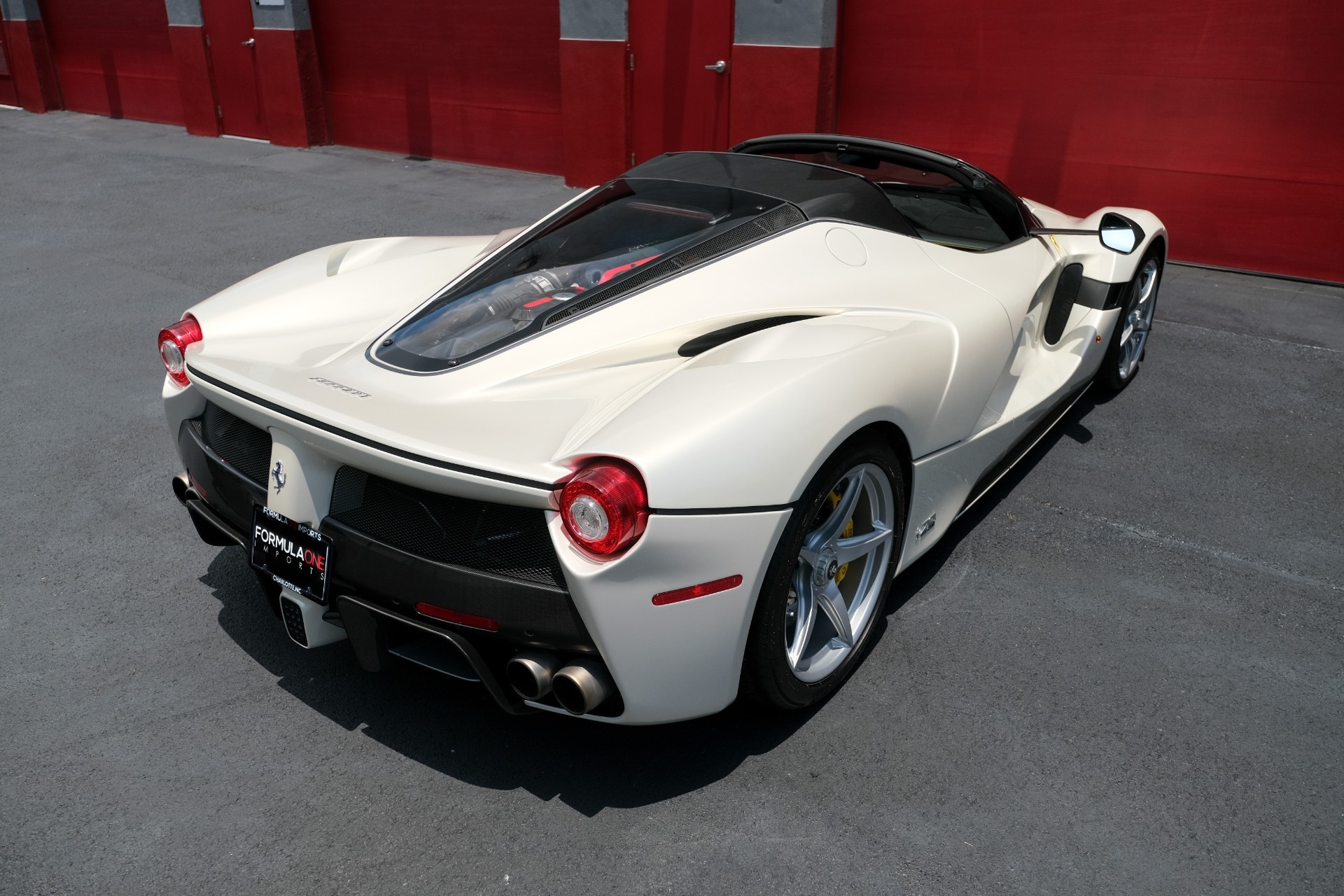Used 2017 Ferrari LAFERRARI APERTA HYPERCAR / 963HP / HY-KERS / CARBON FIBER / BREMBO / F1 AUTO for sale Sold at Formula Imports in Charlotte NC 28227 7