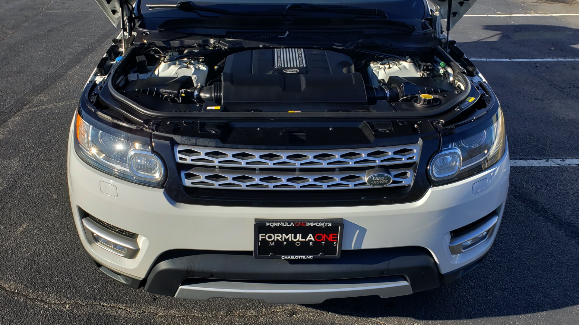 Used 2016 Land Rover RANGE ROVER SPORT SC V6 / NAV / PANO-ROOF / REARVIEW / VISION PKG for sale Sold at Formula Imports in Charlotte NC 28227 16