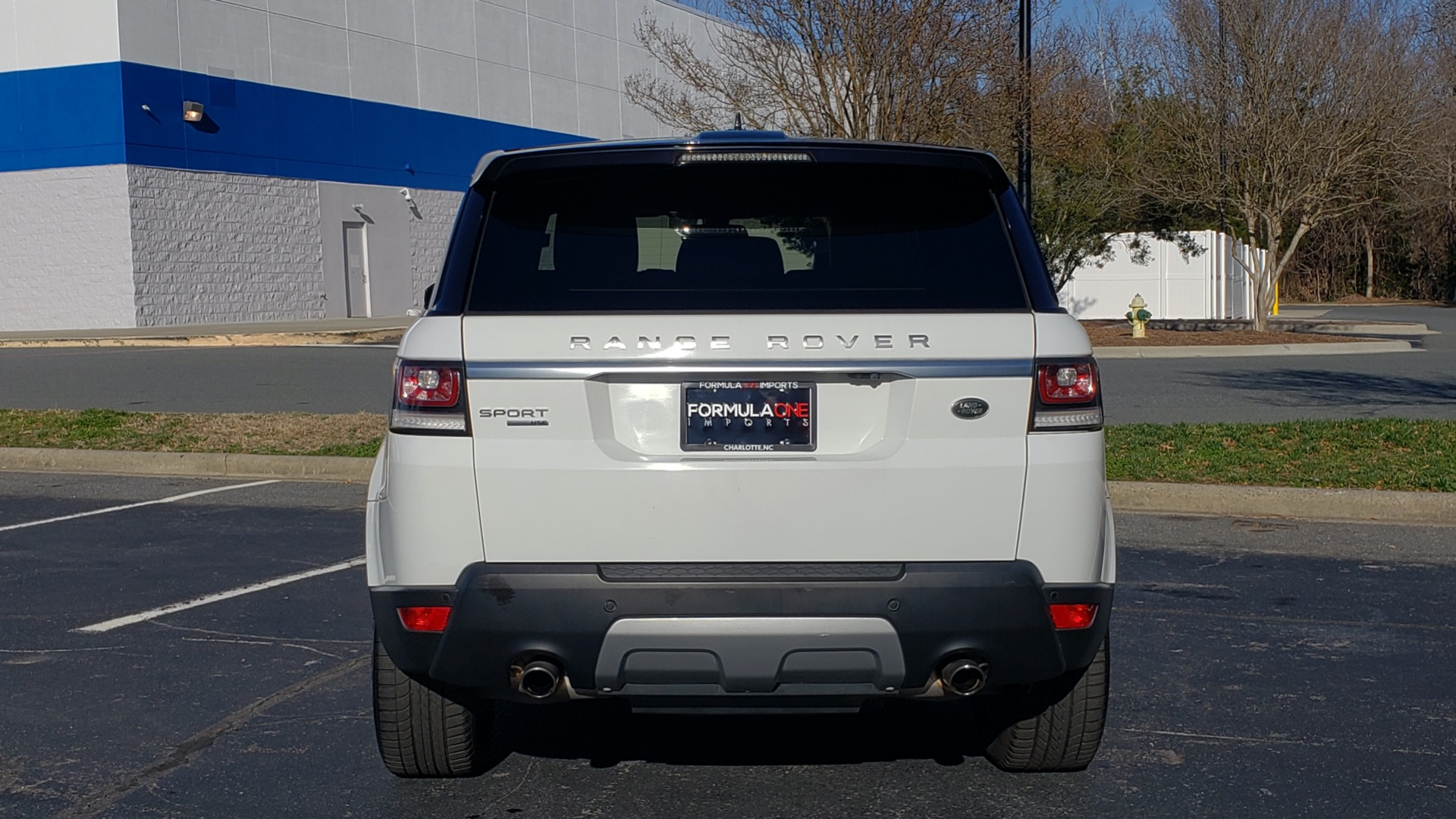 Used 2016 Land Rover RANGE ROVER SPORT SC V6 / NAV / PANO-ROOF / REARVIEW / VISION PKG for sale Sold at Formula Imports in Charlotte NC 28227 30