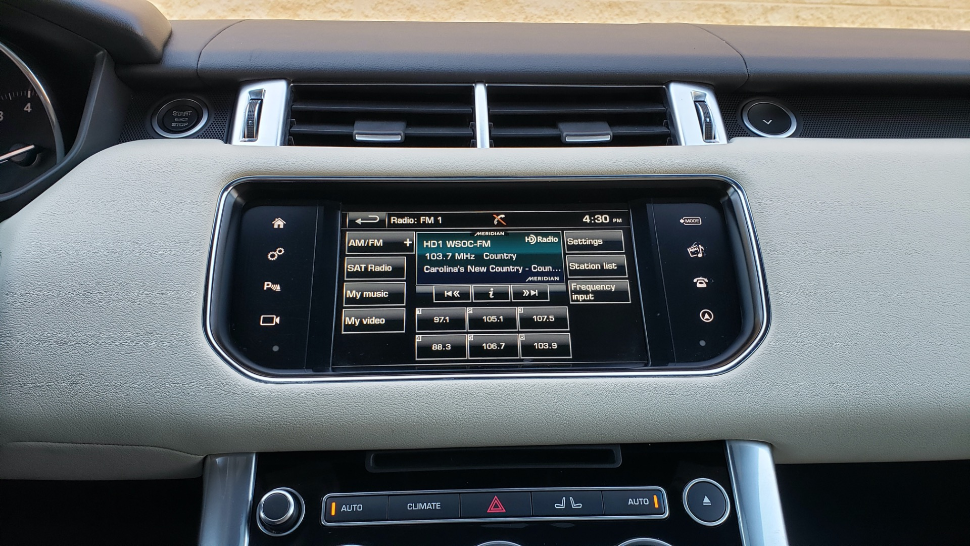 Used 2016 Land Rover RANGE ROVER SPORT SC V6 / NAV / PANO-ROOF / REARVIEW / VISION PKG for sale Sold at Formula Imports in Charlotte NC 28227 48