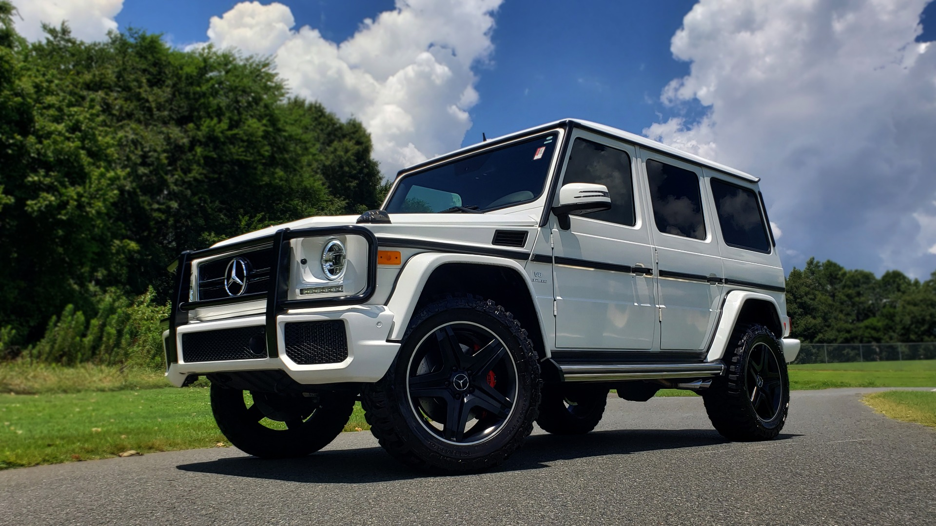 Used 2014 Mercedes-Benz G-CLASS G 63 AMG / AWD / NAV / SUNROOF / PREM SOUND / BSM for sale Sold at Formula Imports in Charlotte NC 28227 34