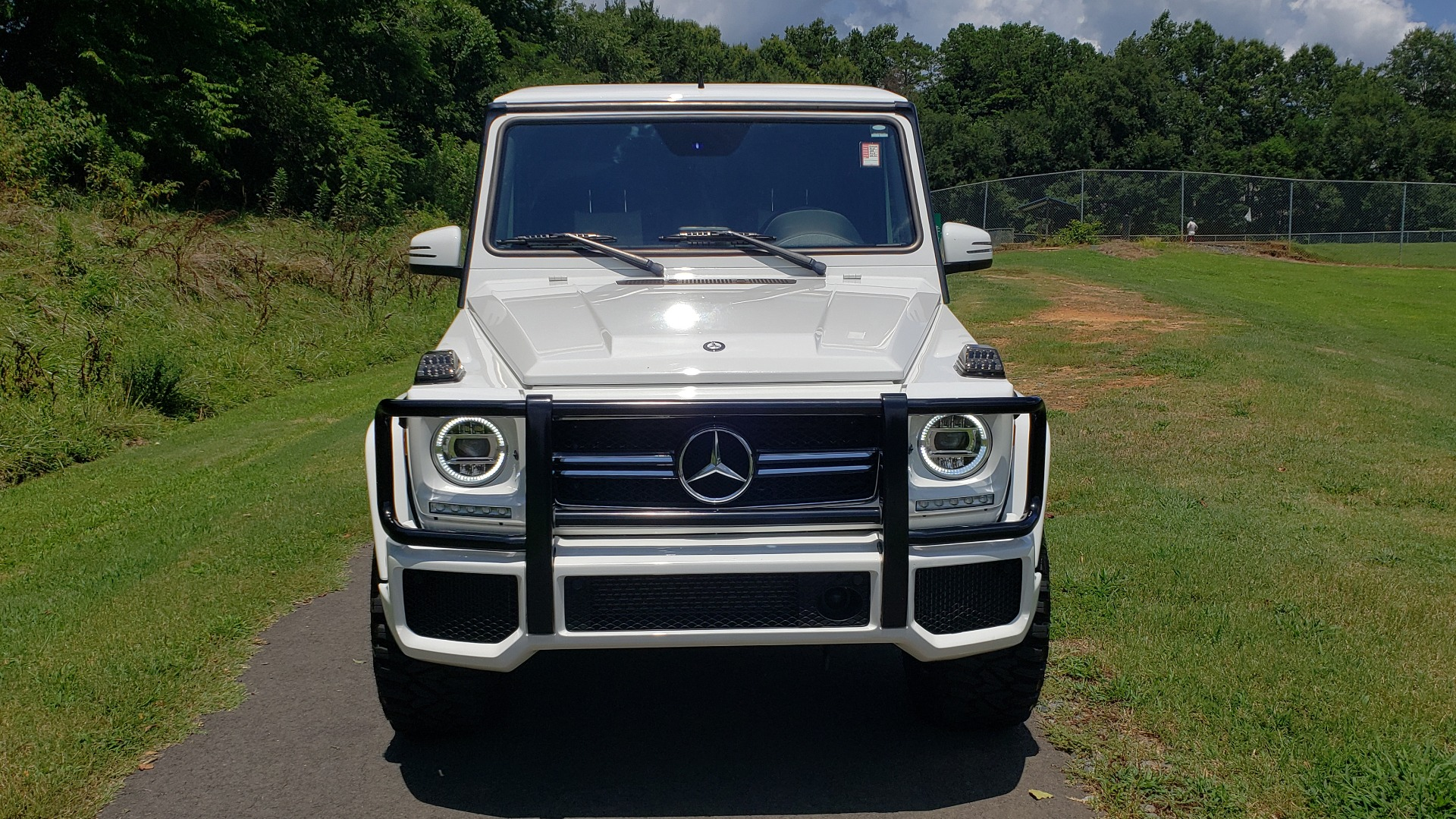 Used 2014 Mercedes-Benz G-CLASS G 63 AMG / AWD / NAV / SUNROOF / PREM SOUND / BSM for sale Sold at Formula Imports in Charlotte NC 28227 7