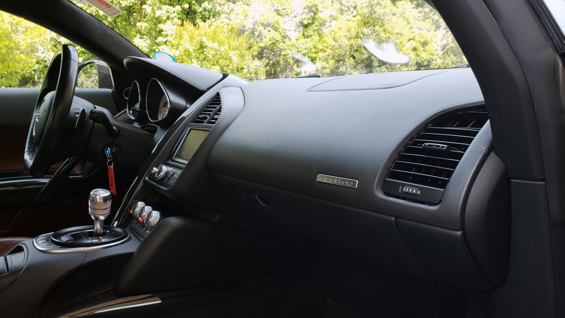 Used 2012 Audi R8 5.2L V10 / AWD / COUPE / NAV / 6-SPD AUTO / CUSTOM WRAP for sale Sold at Formula Imports in Charlotte NC 28227 58