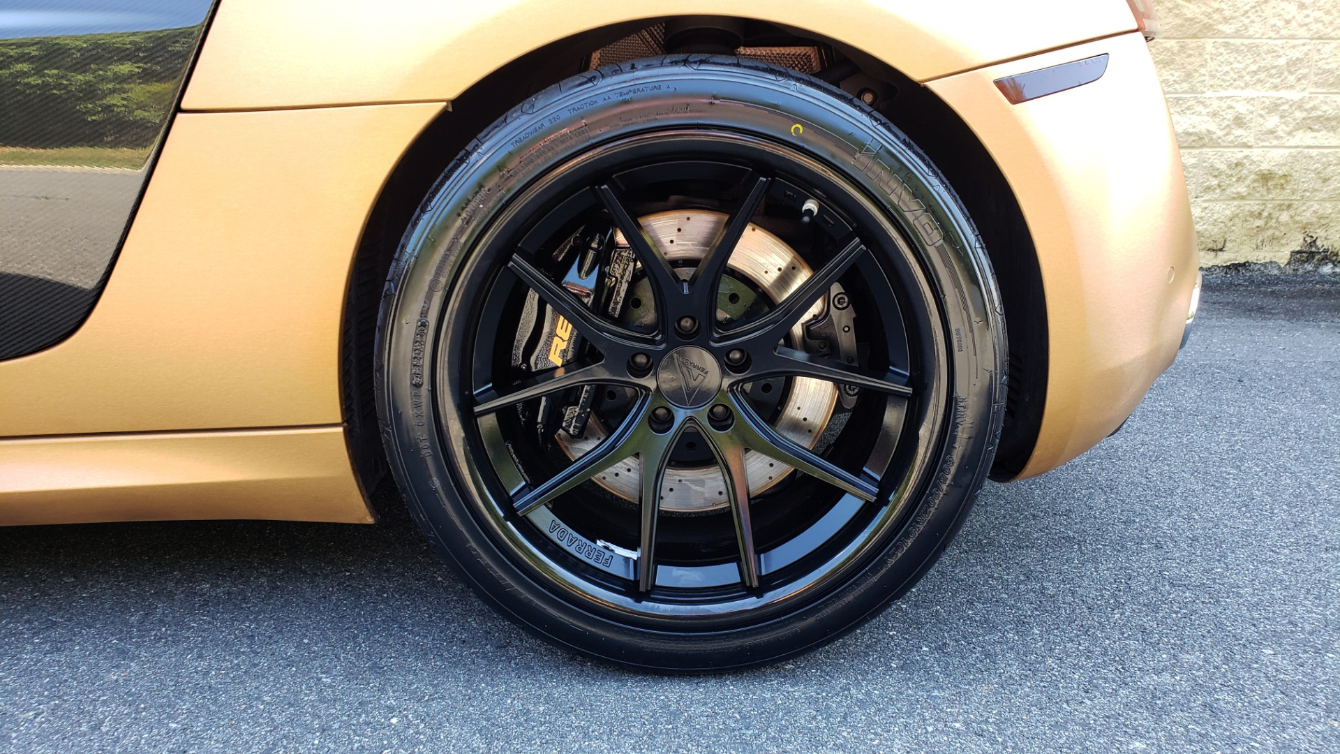 Used 2012 Audi R8 V10 5.2L / CUST WRAP BRUSHED BRONZE / NAV / B&O SOUND / CUST 19IN WHLS for sale $79,999 at Formula Imports in Charlotte NC 28227 72