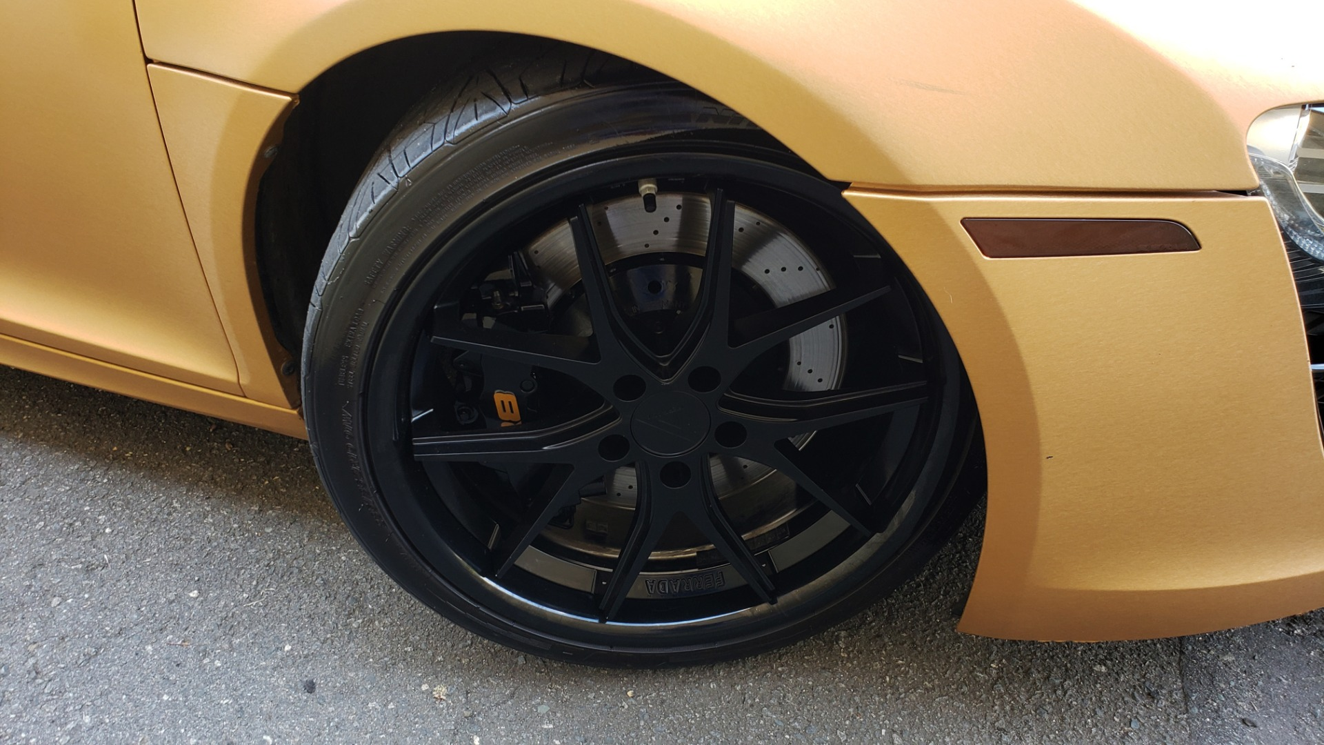 Used 2012 Audi R8 V10 5.2L / CUST WRAP BRUSHED BRONZE / NAV / B&O SOUND / CUST 19IN WHLS for sale $79,999 at Formula Imports in Charlotte NC 28227 73