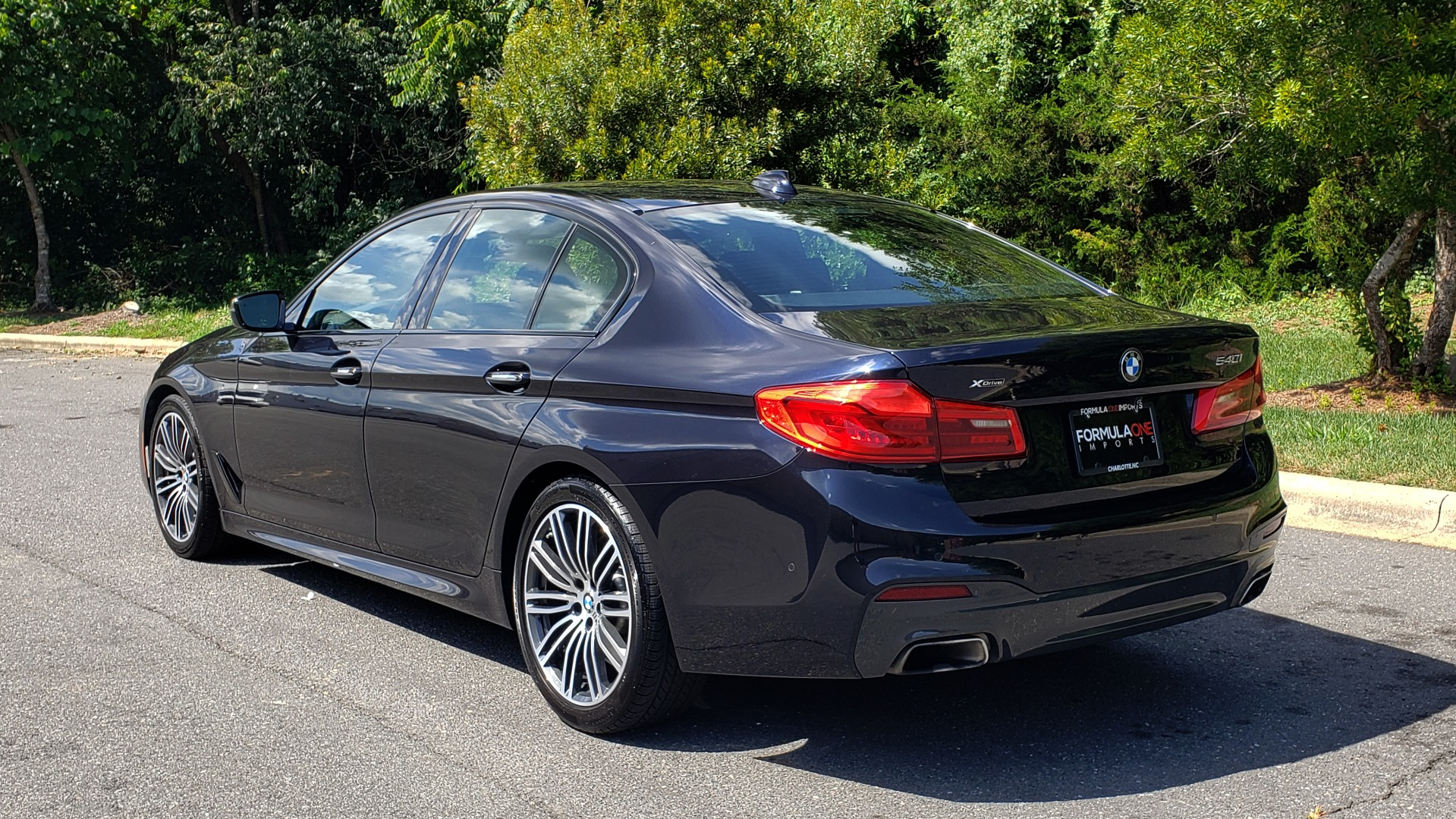 Used 2017 BMW 5 SERIES 540I XDRIVE PREMIUM / NAV / DRVR ASST PLUS / CLD WTHR / SUNROOF / REARVIEW for sale Sold at Formula Imports in Charlotte NC 28227 3