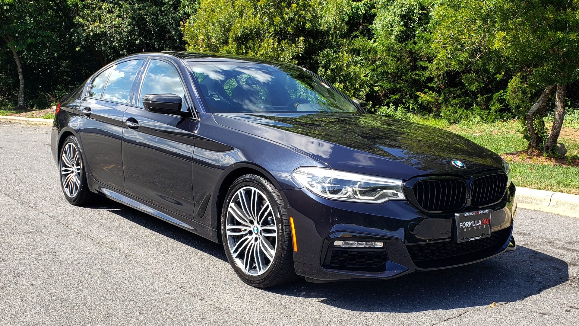 Used 2017 BMW 5 SERIES 540I XDRIVE PREMIUM / NAV / DRVR ASST PLUS / CLD WTHR / SUNROOF / REARVIEW for sale Sold at Formula Imports in Charlotte NC 28227 4